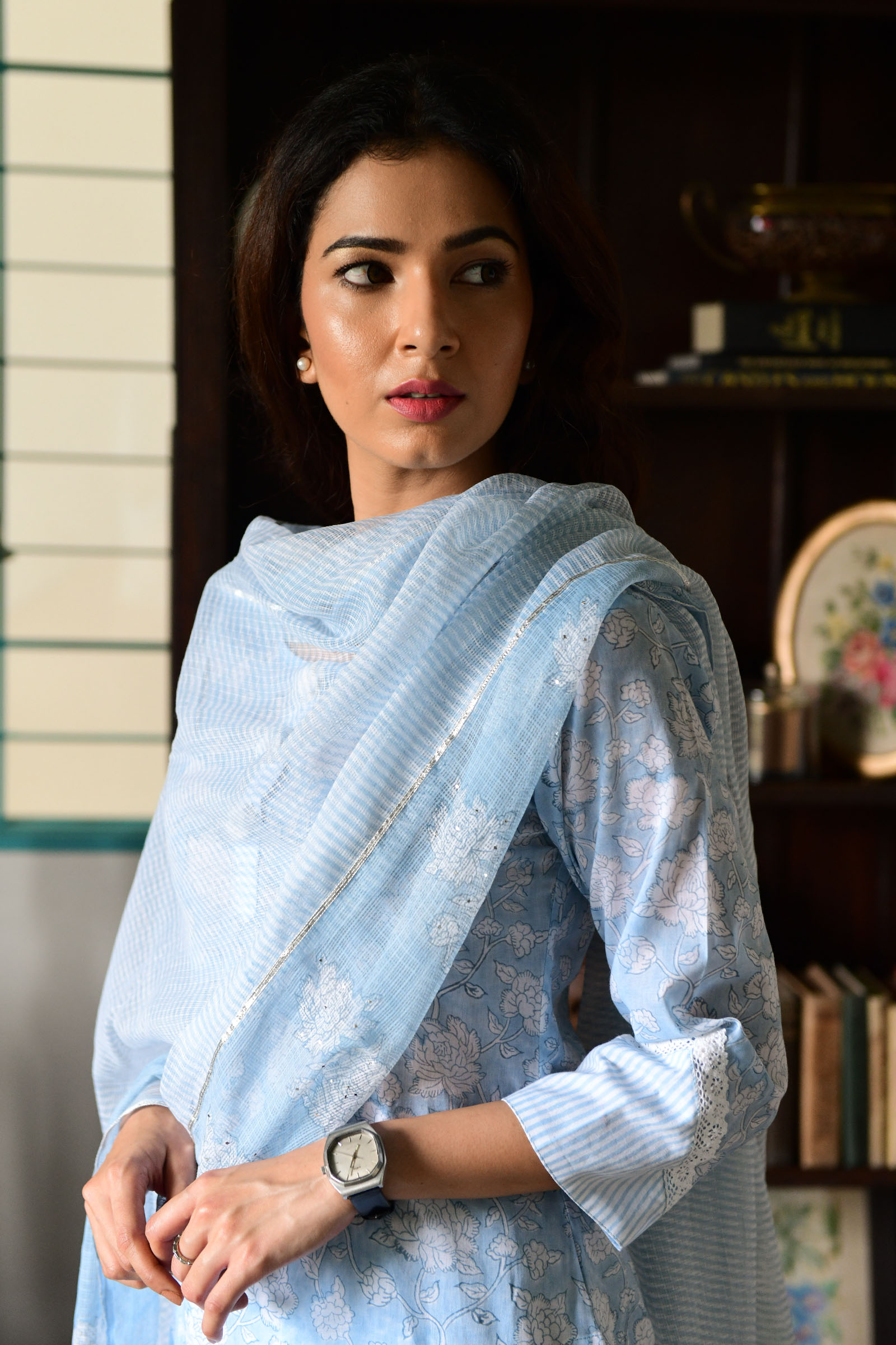 Whimsy Waters Dupatta