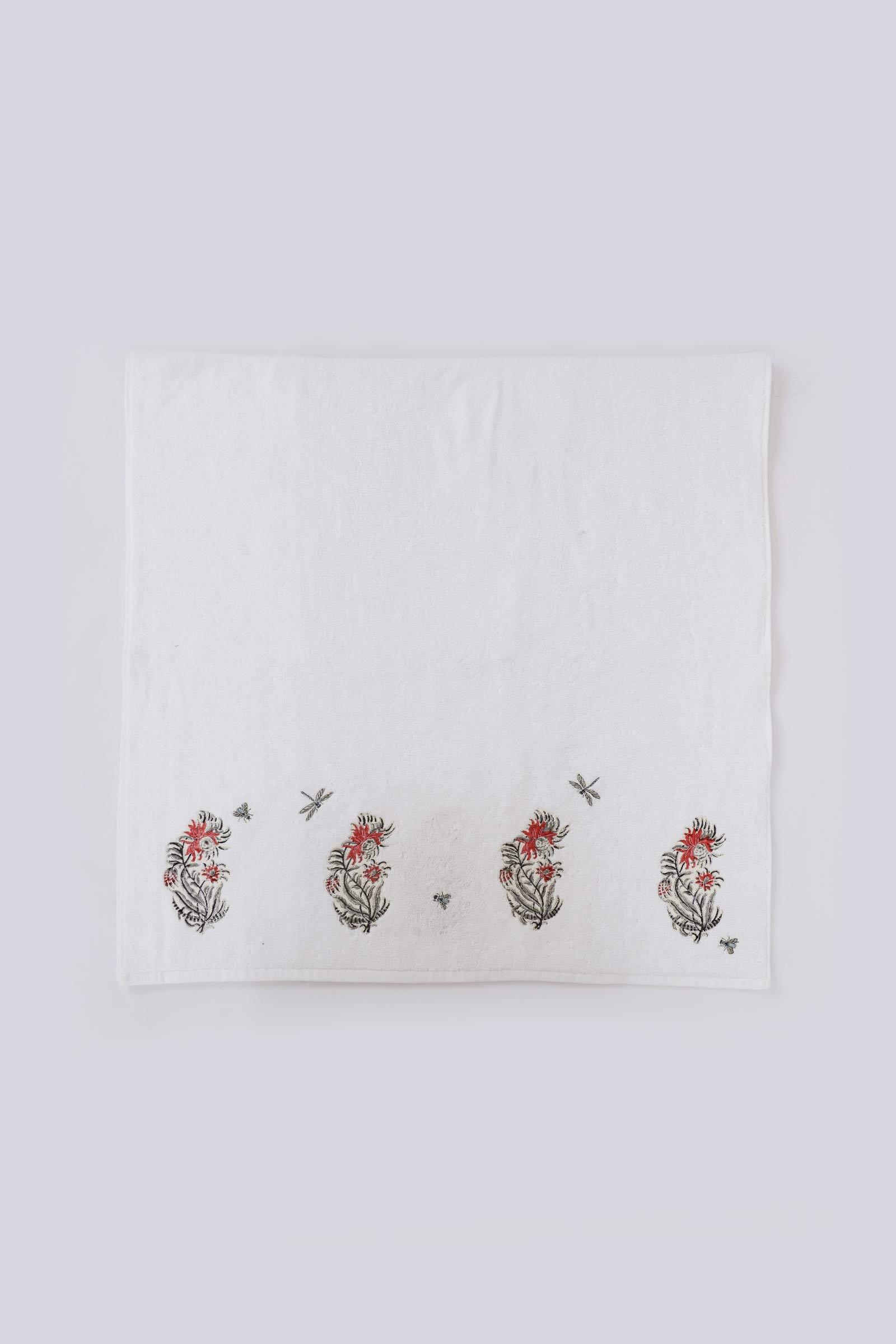 Egypt rose bath towel