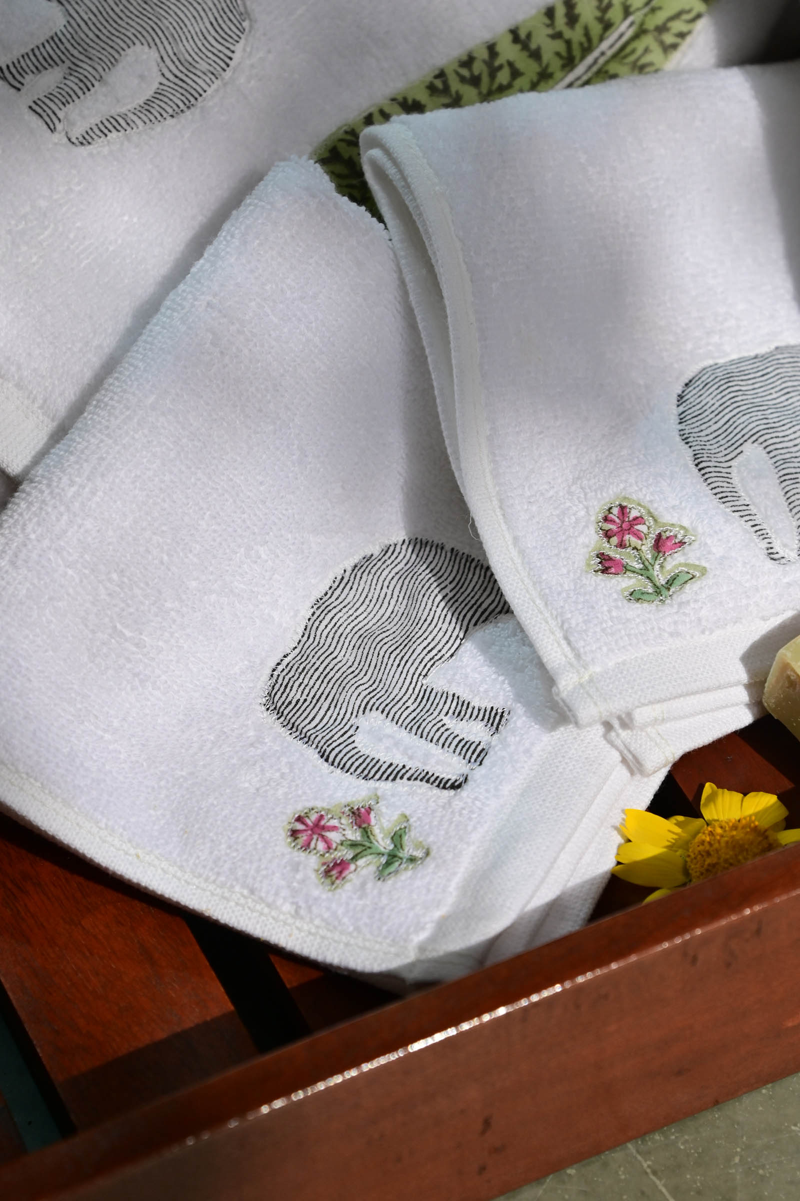Elephant Face Towel