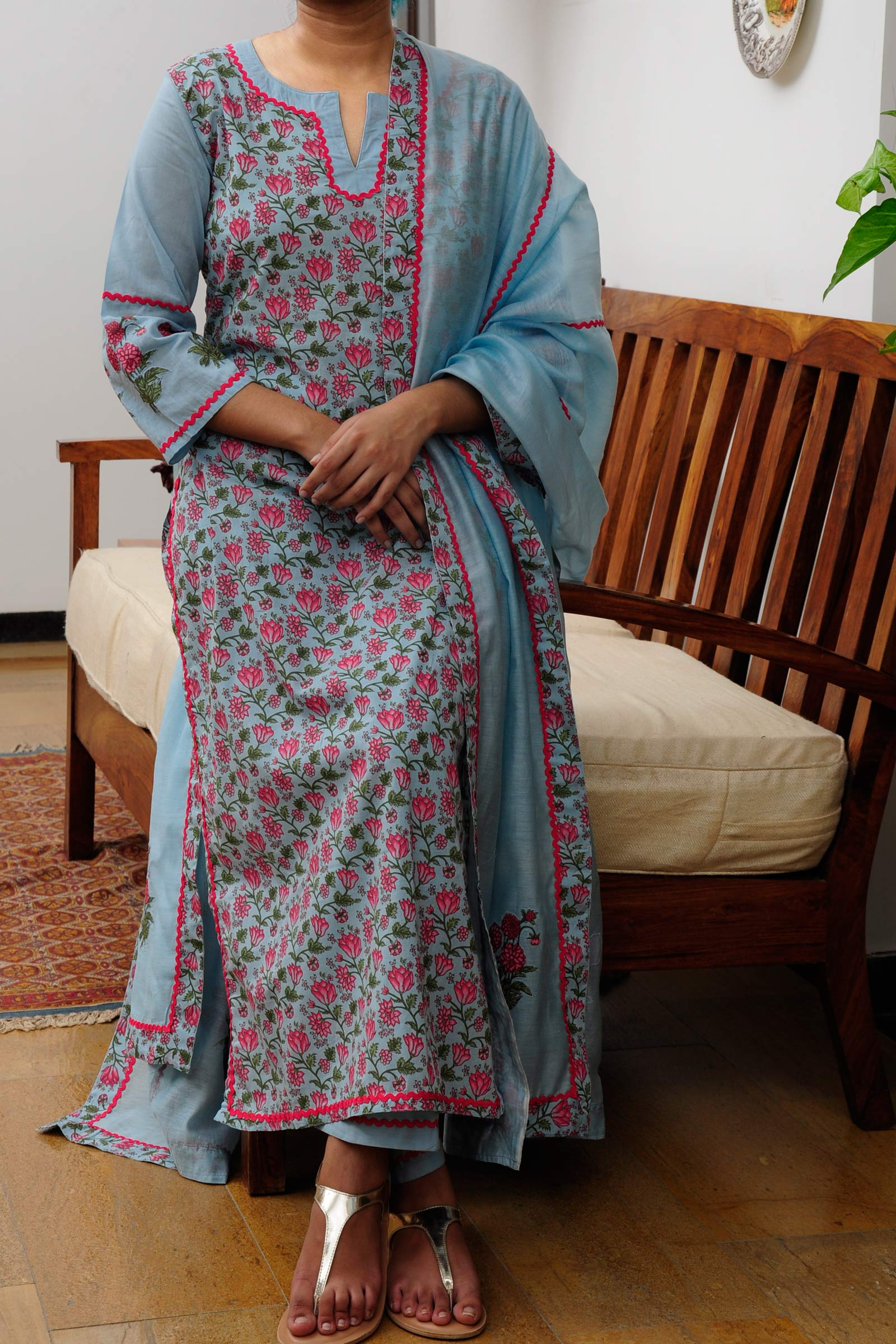 Evening Flower Kurta