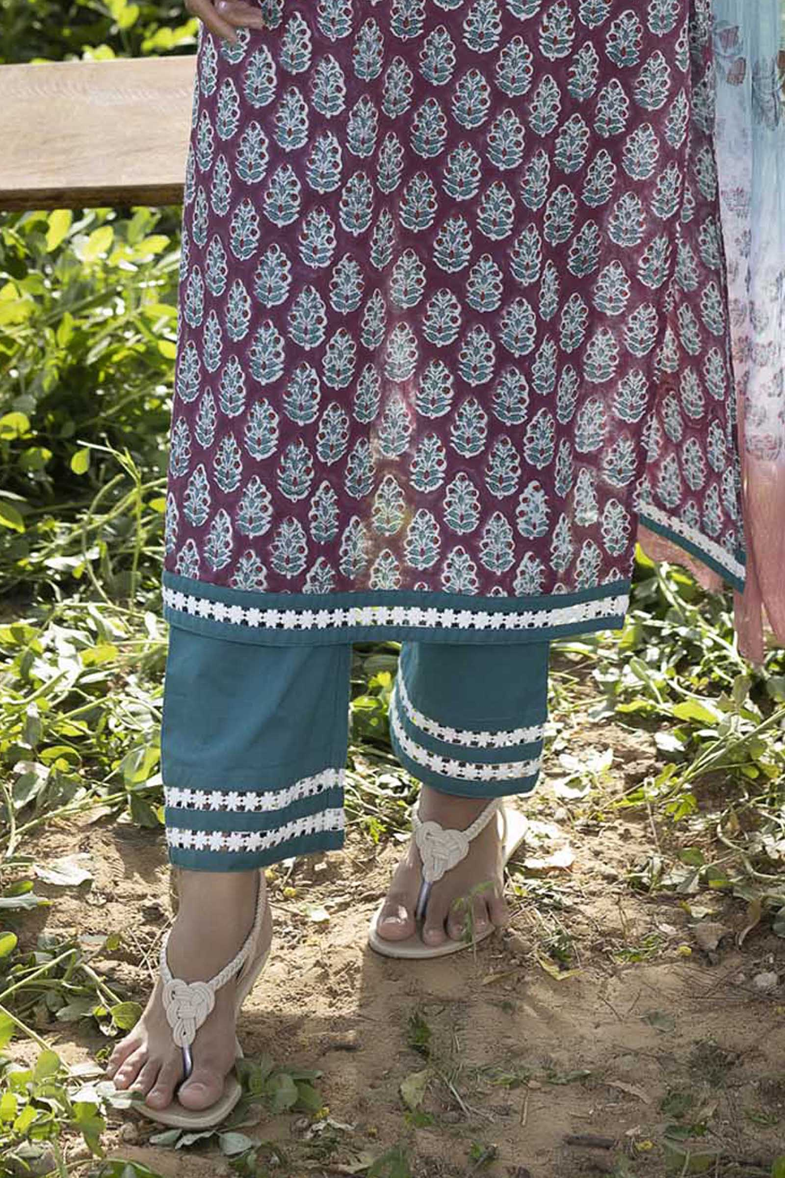 Fairy Tale Cotton Cigarette Pant