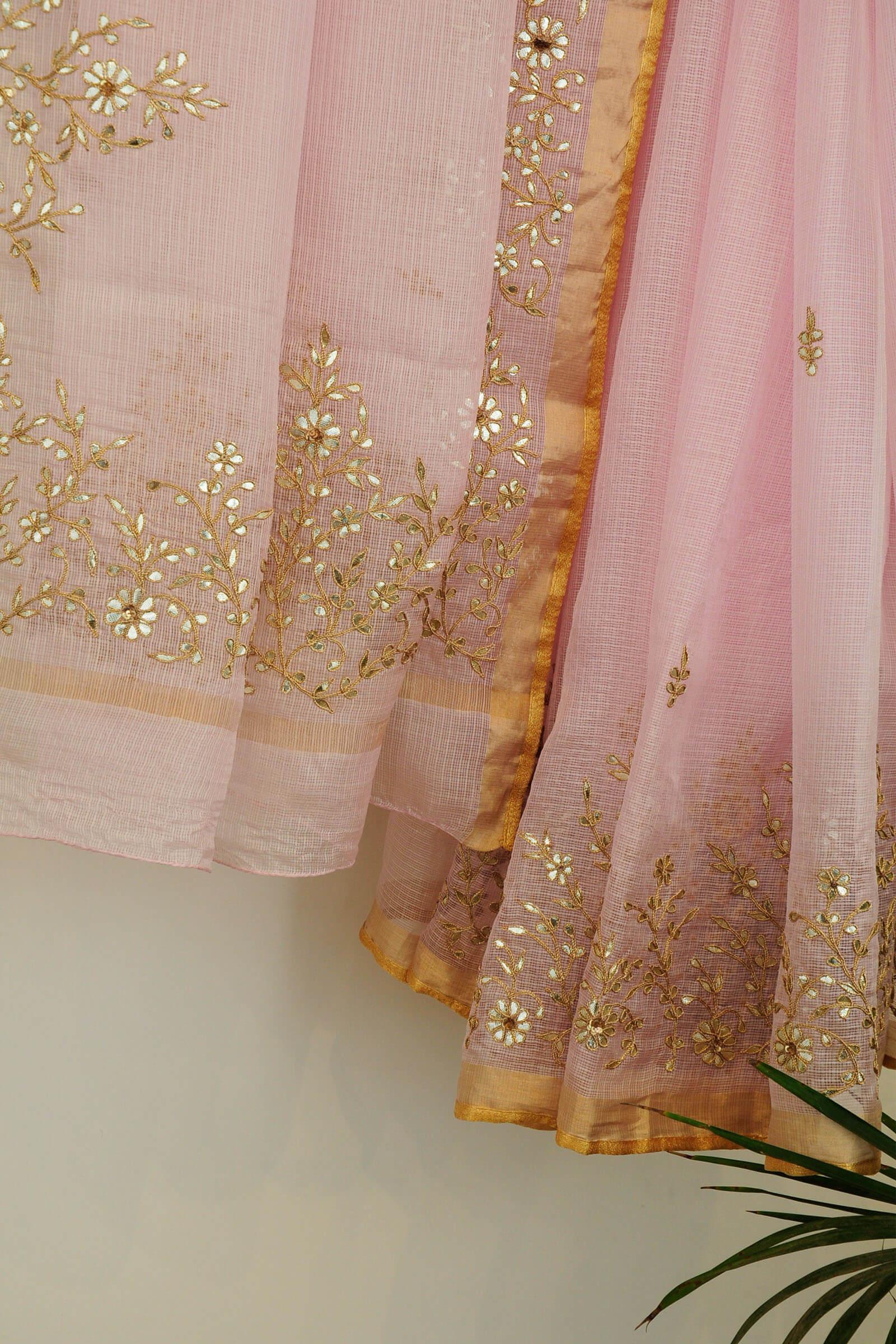 Floral Gota Pink