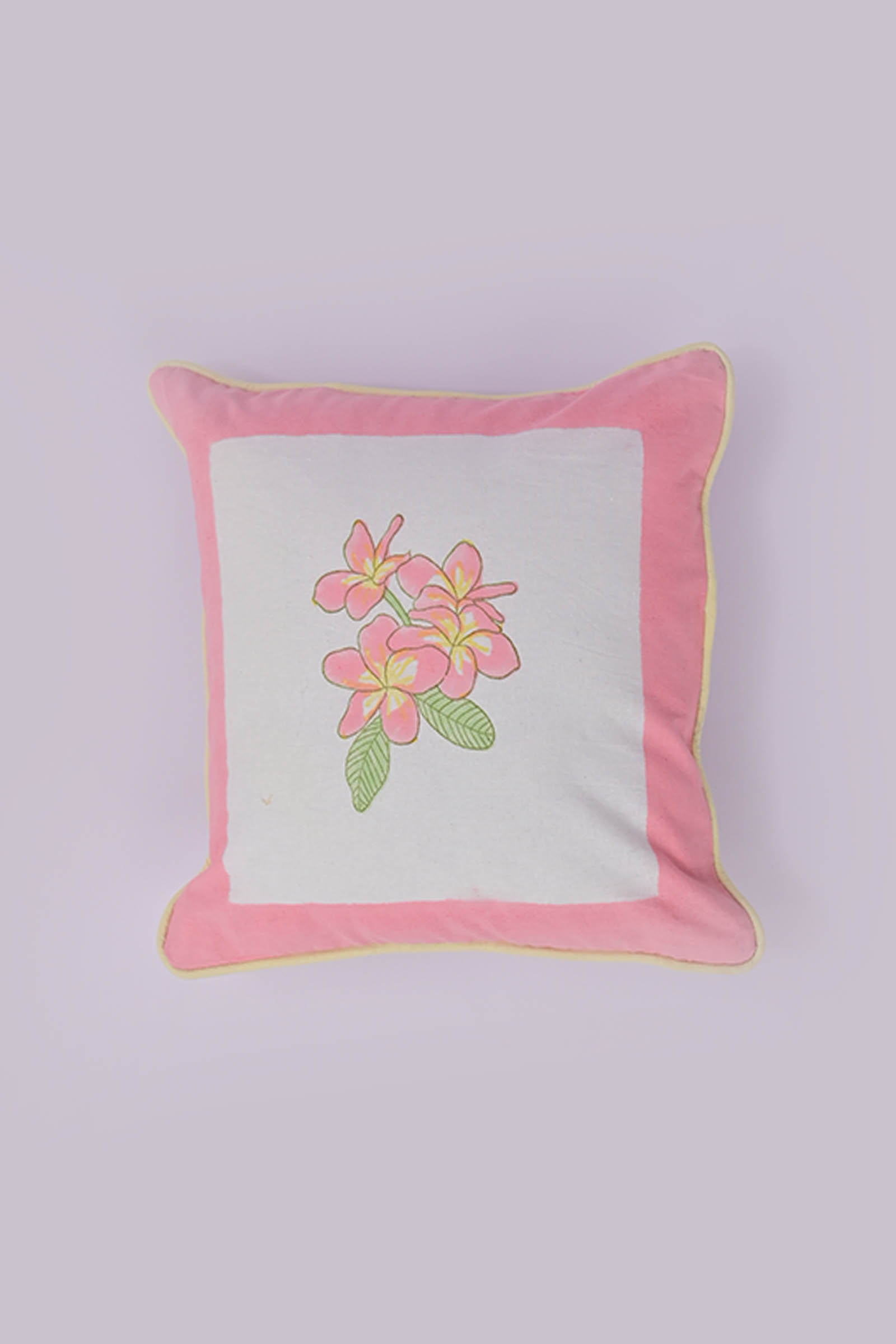 Frangipani 12*12 Cushion Cover