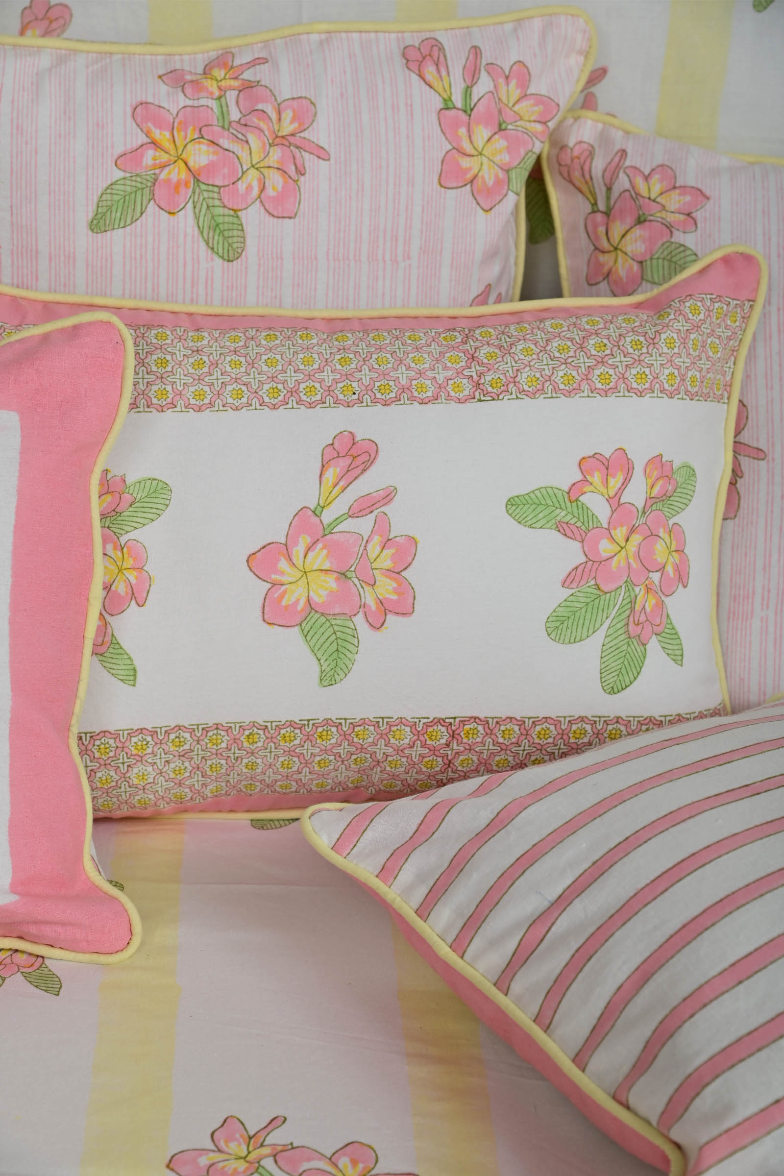 Frangipani 18*12 Cushion Cover