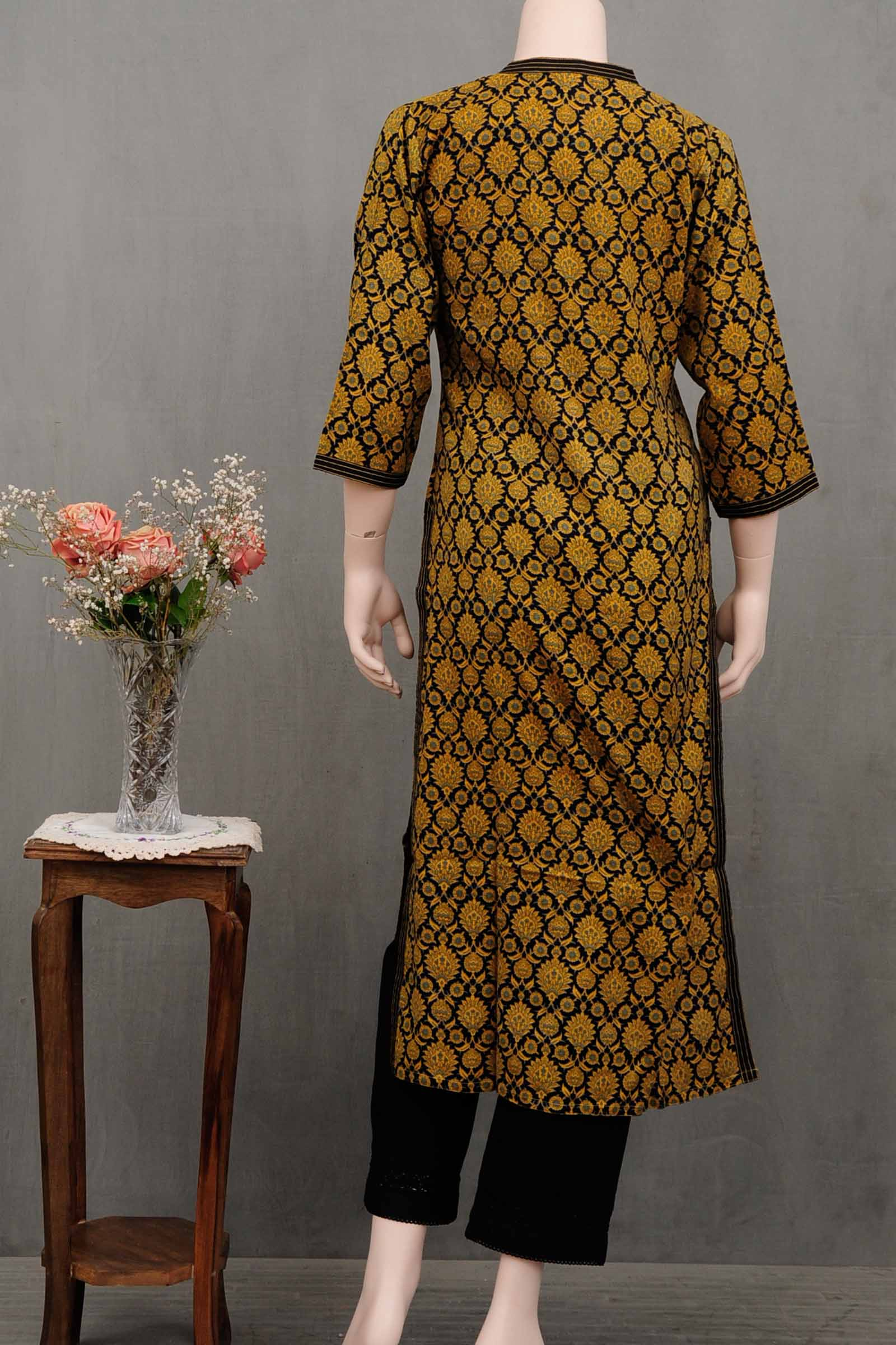 Golden Secret Twill Kurta