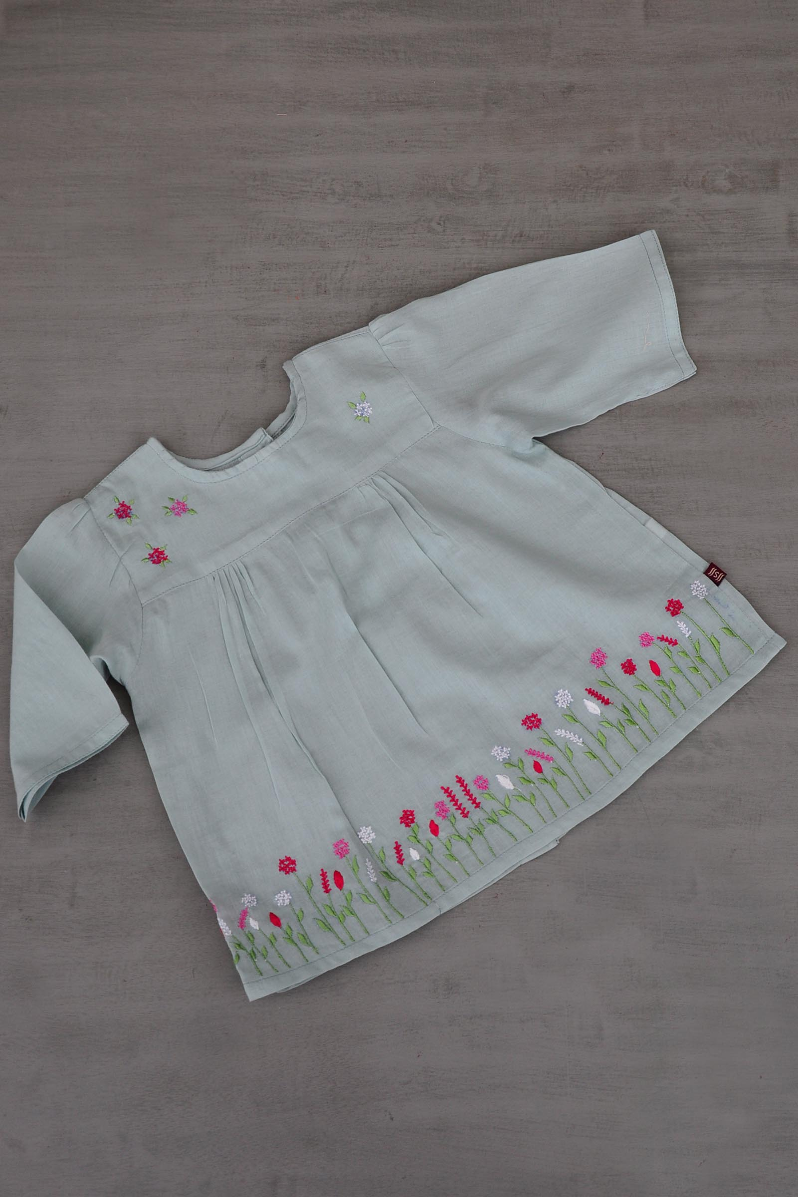 Green  Baby Frock