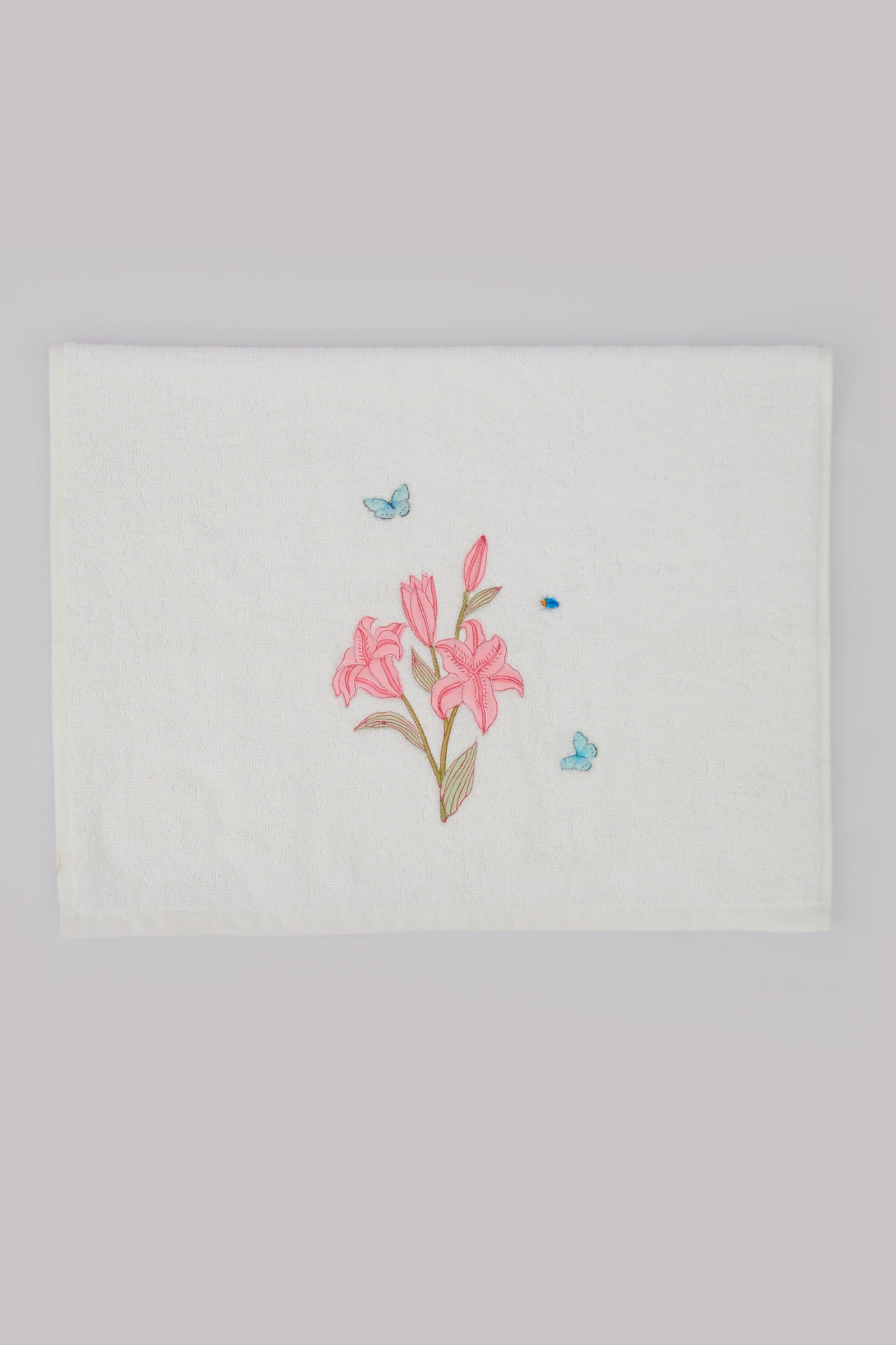 Lilium Hand Towel (Set Of 2)