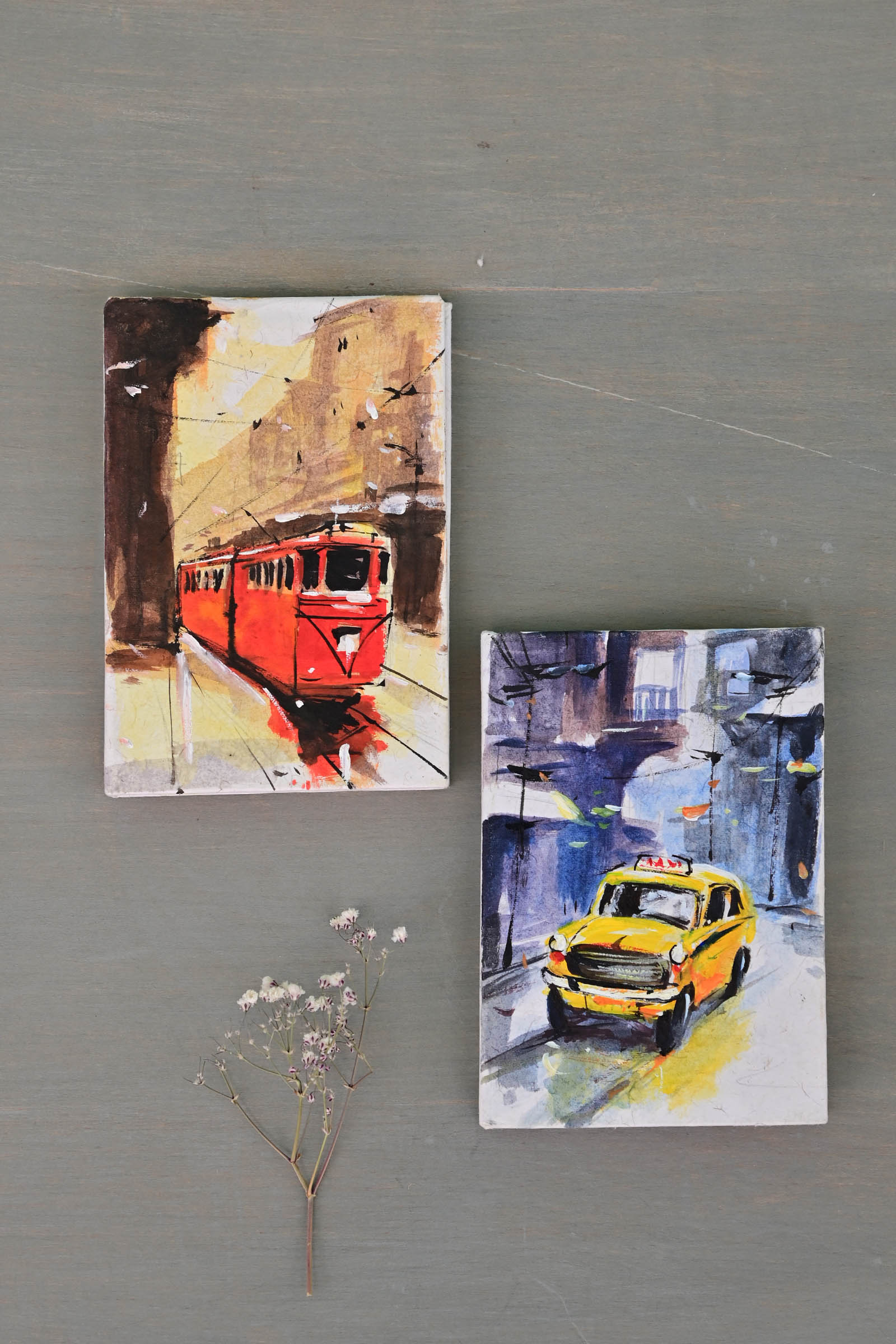 Pocket Diary Locomotive Set Of 2