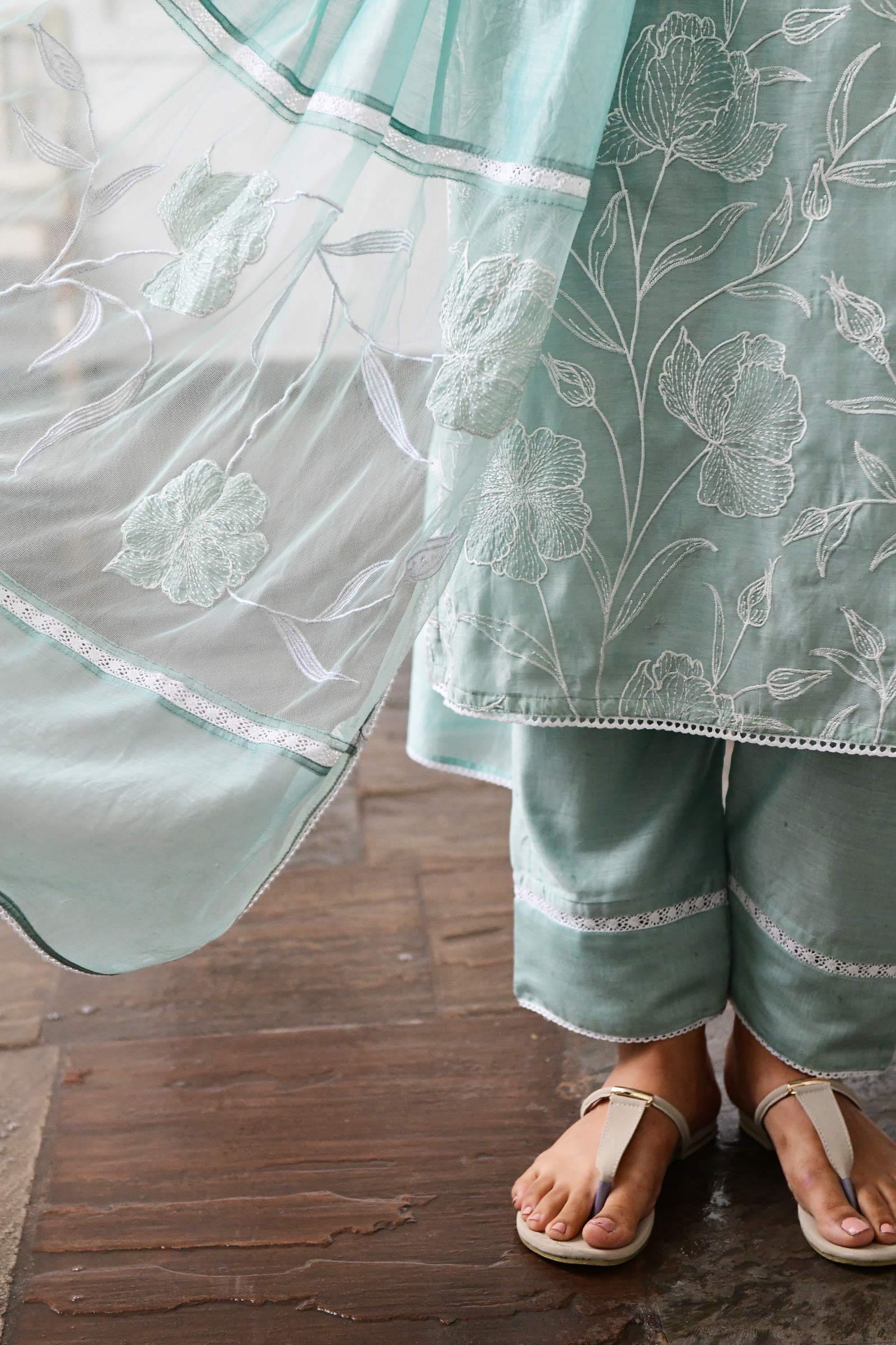 Japanese Magnolia Cigarette Pant