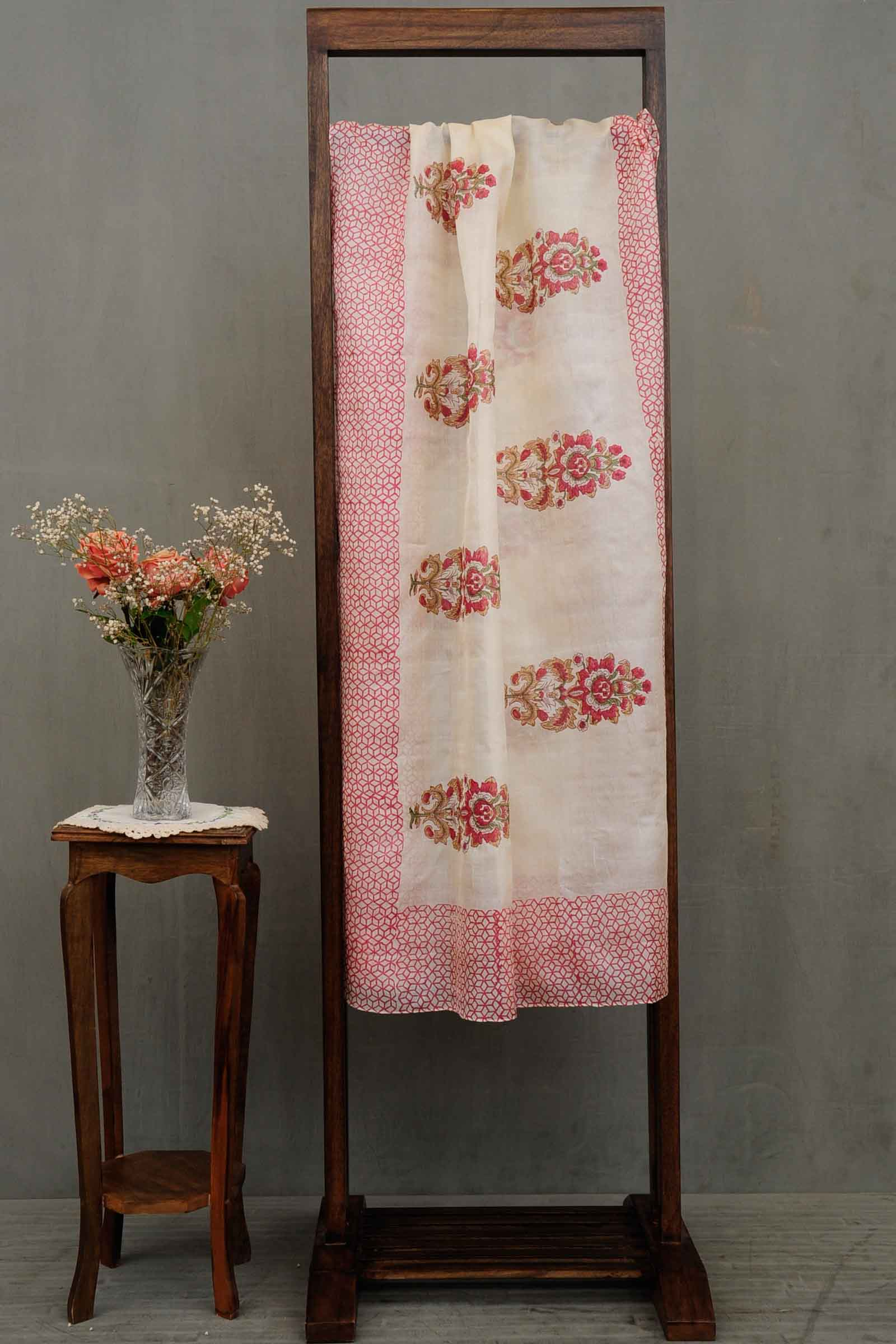 Karmic Connetion Silk Dupatta