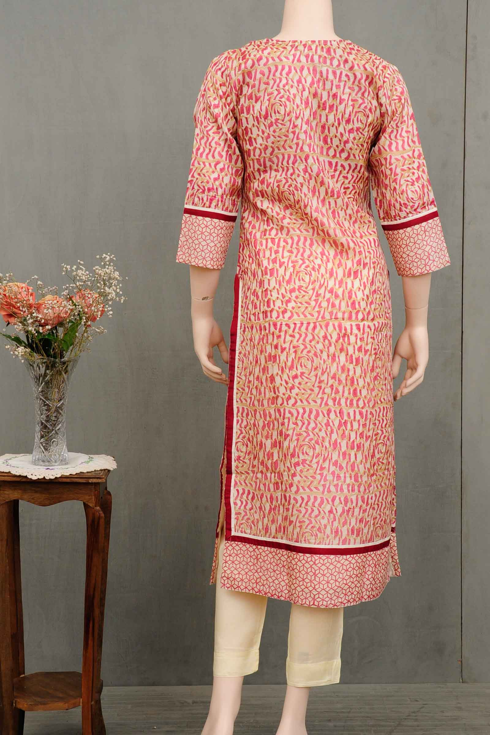 Karmic Connection Silk Kurta