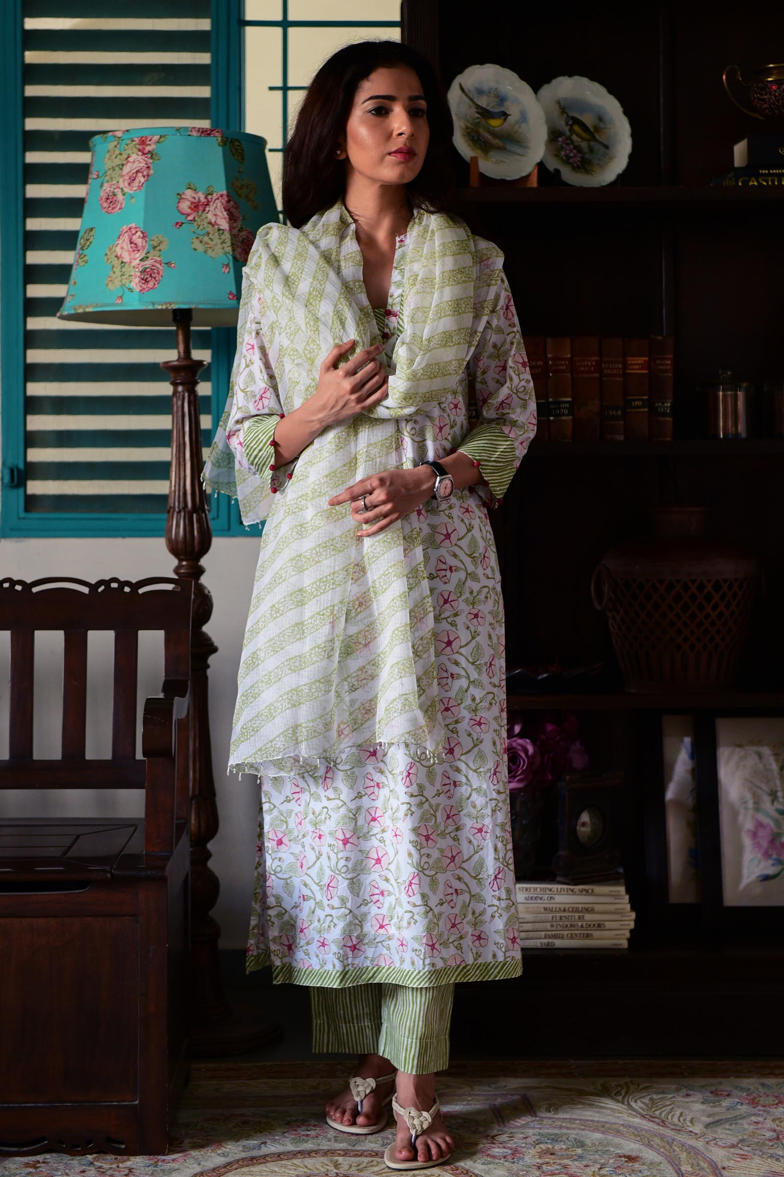 Watercolours Kurta