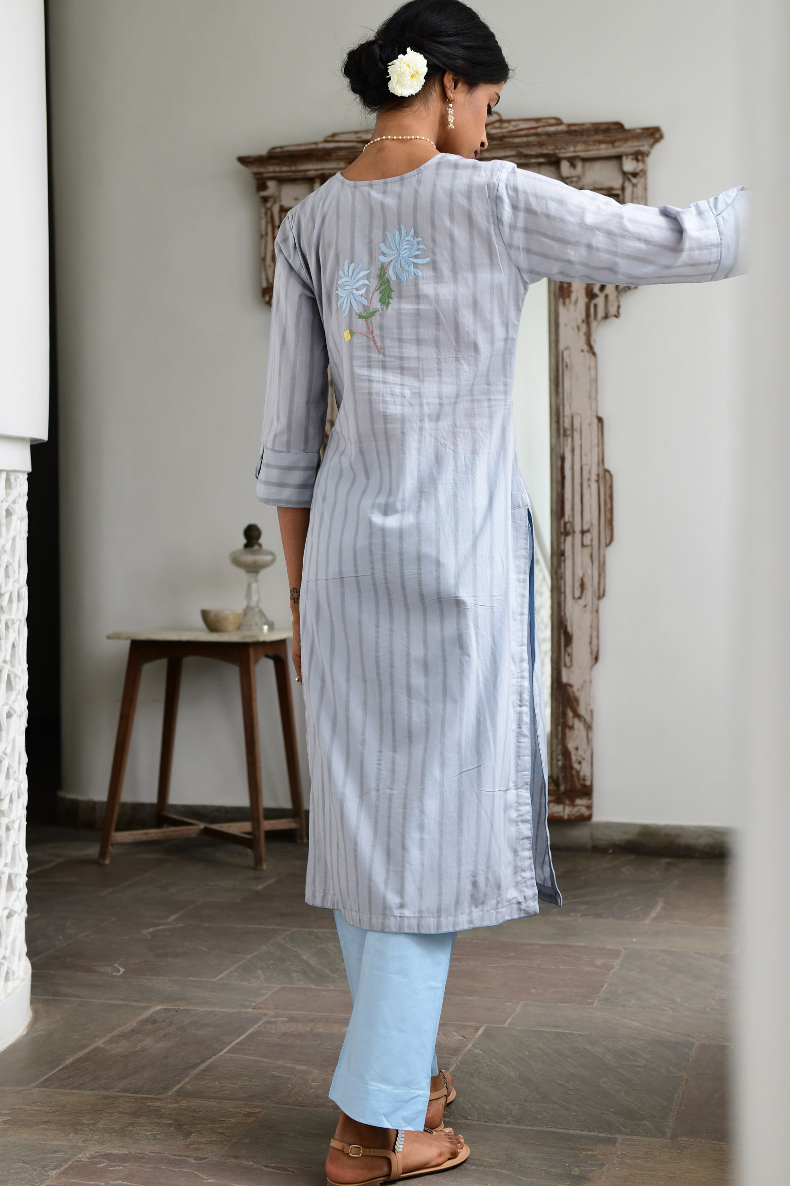Chrysanthemum Kurta