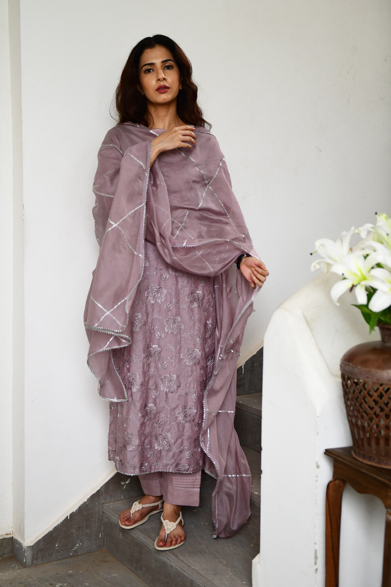 Mauve Magic Kurta