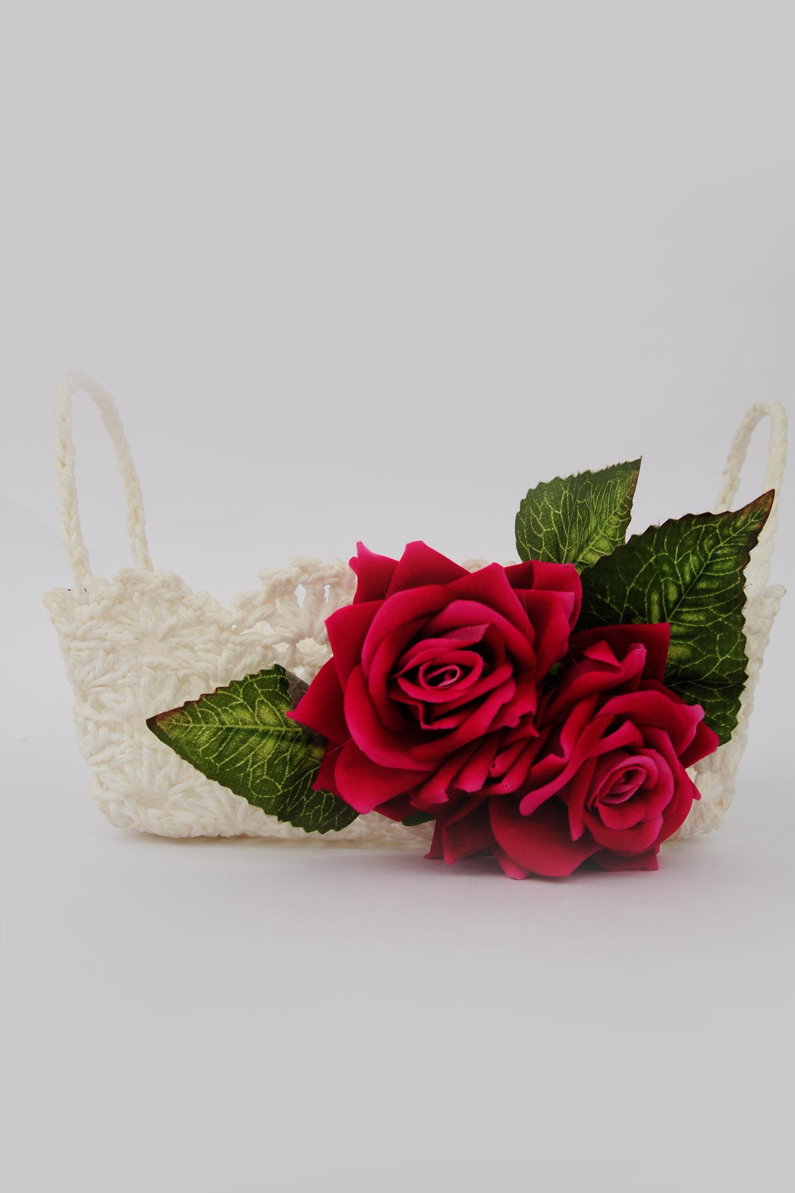 Rose mini basket