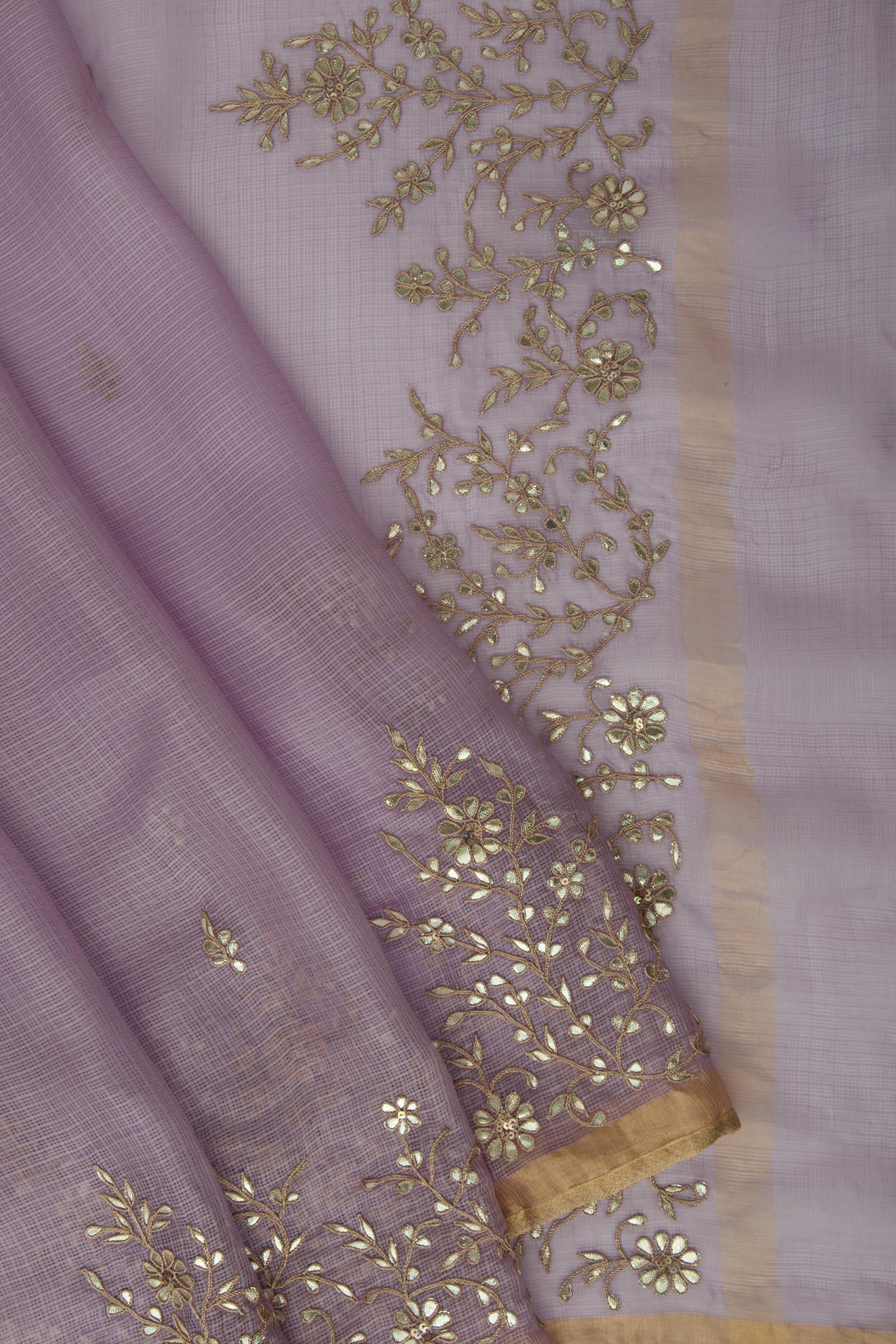 Floral Gota Lavender