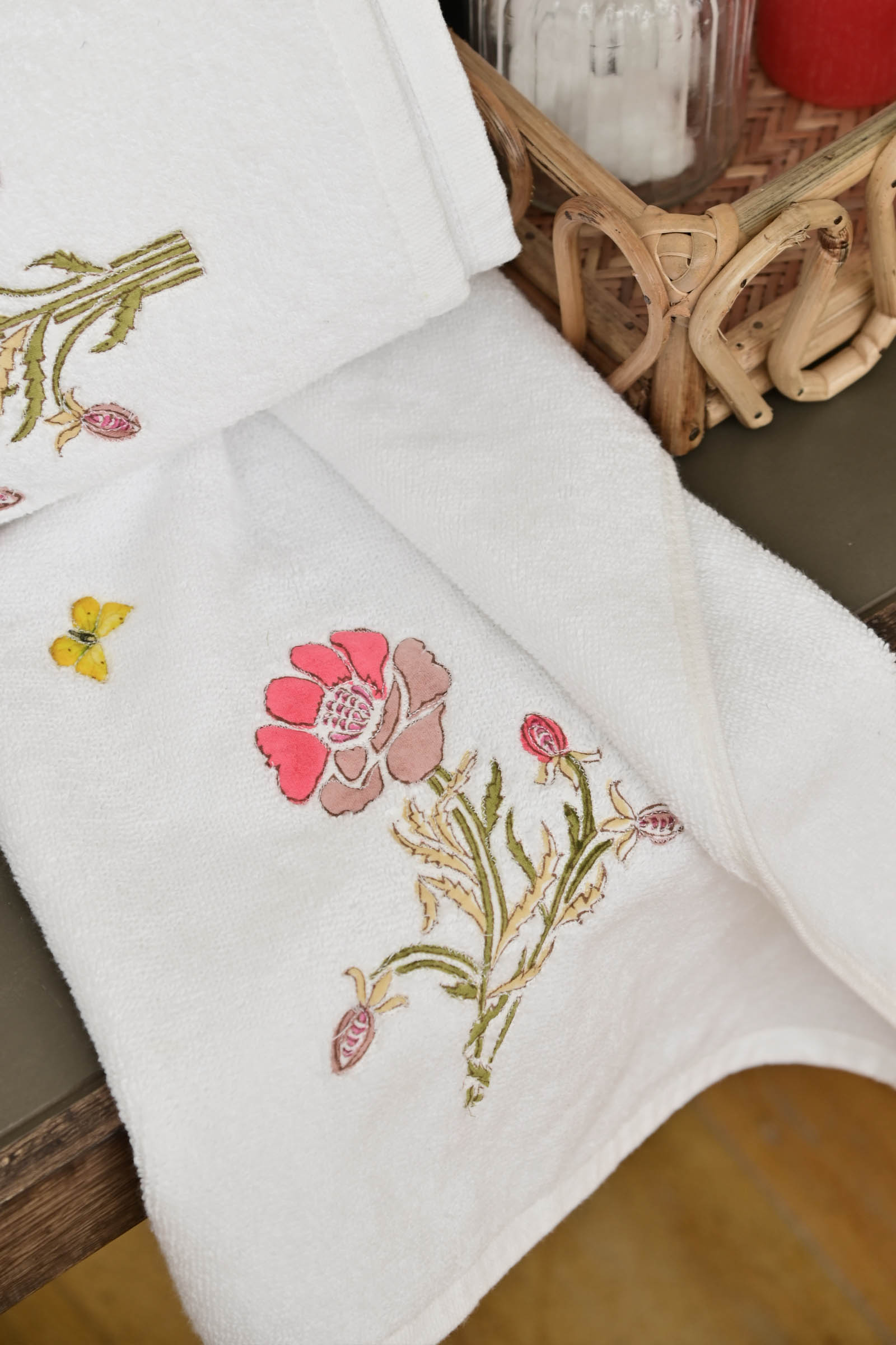 Life In Assam Hand Towel