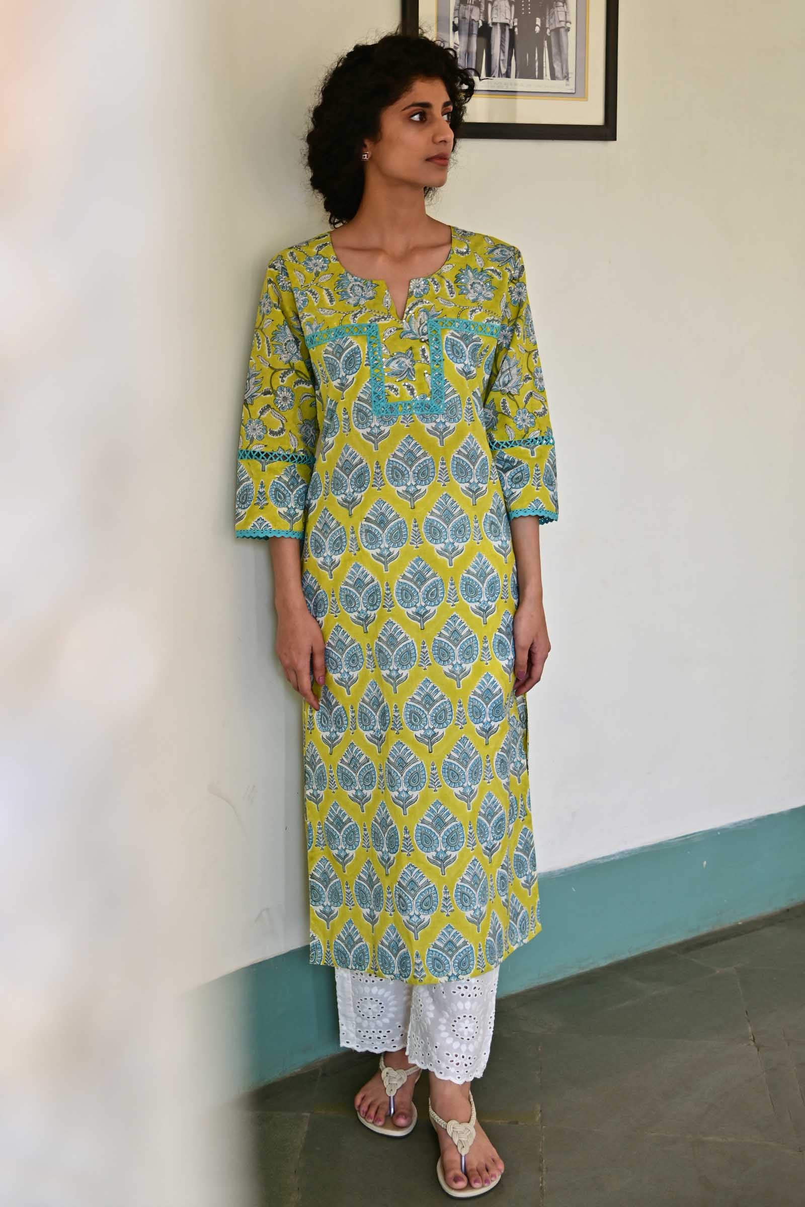 Limca Cotton kurta