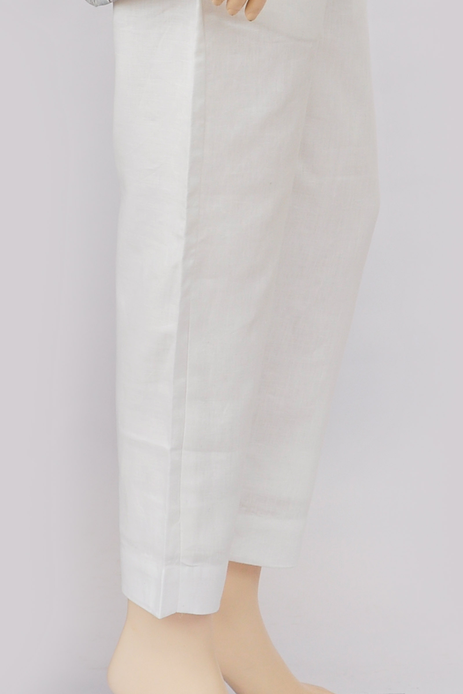 White Linen Cotton Pant