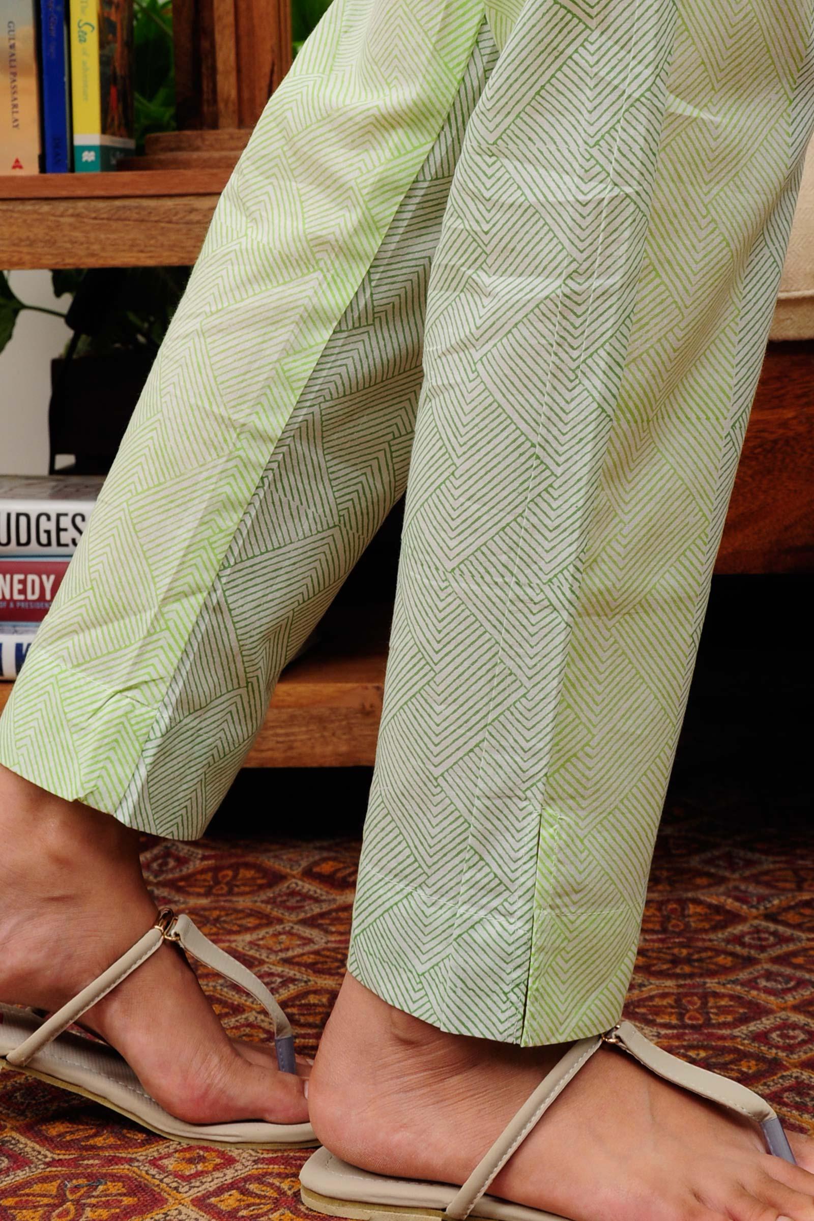 Greenery  Cigarette Pant