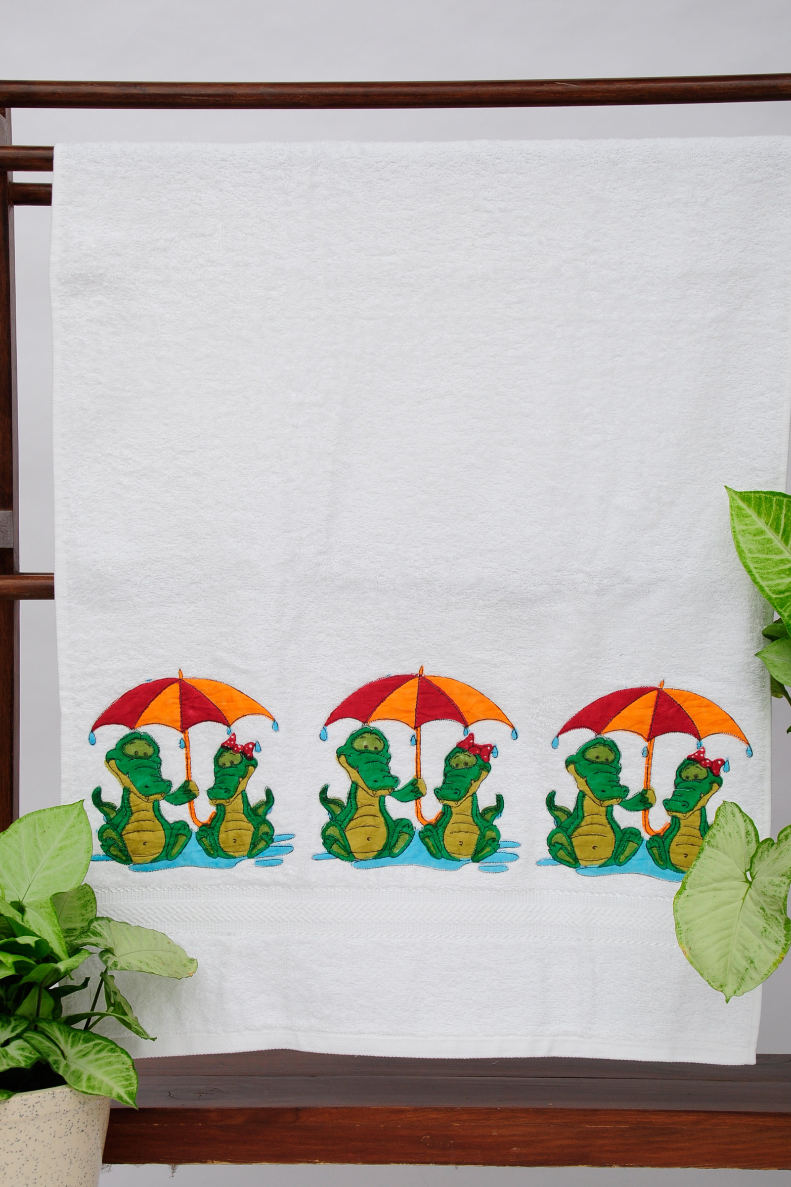 Monsoon Crocs Towel