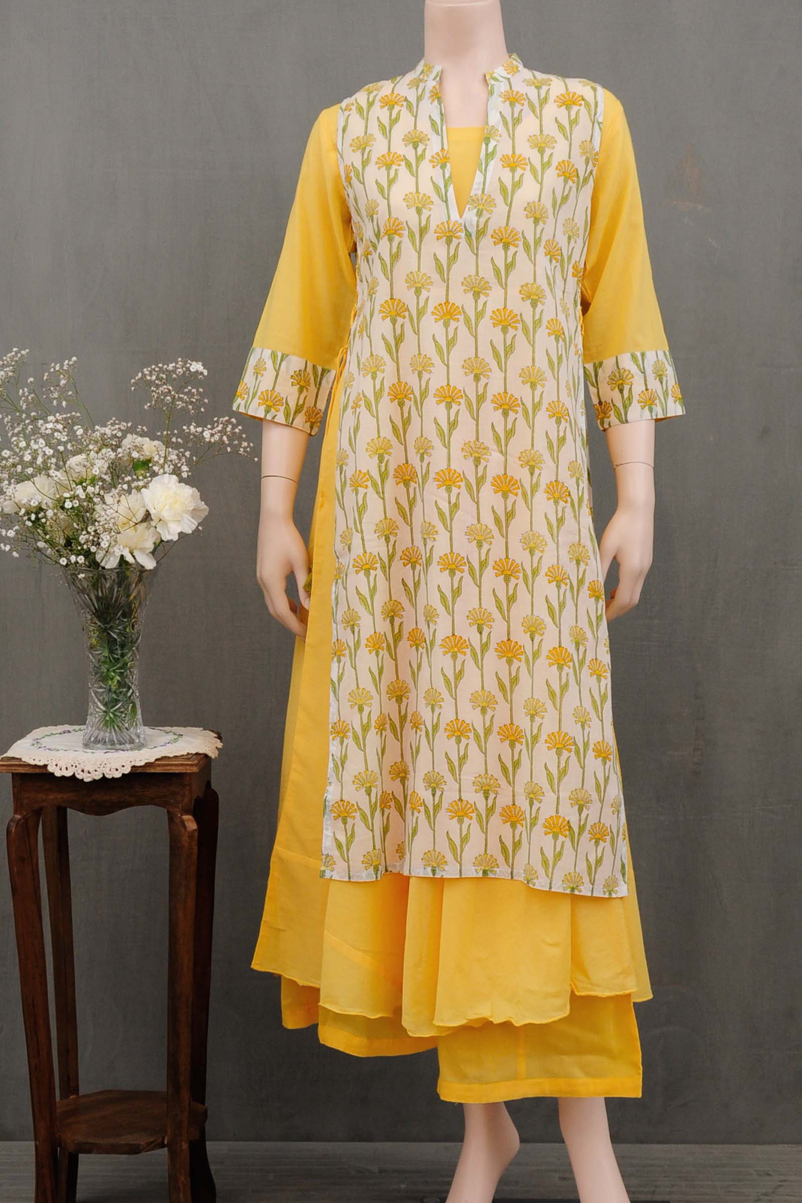 Morning Sun Voil Kurta