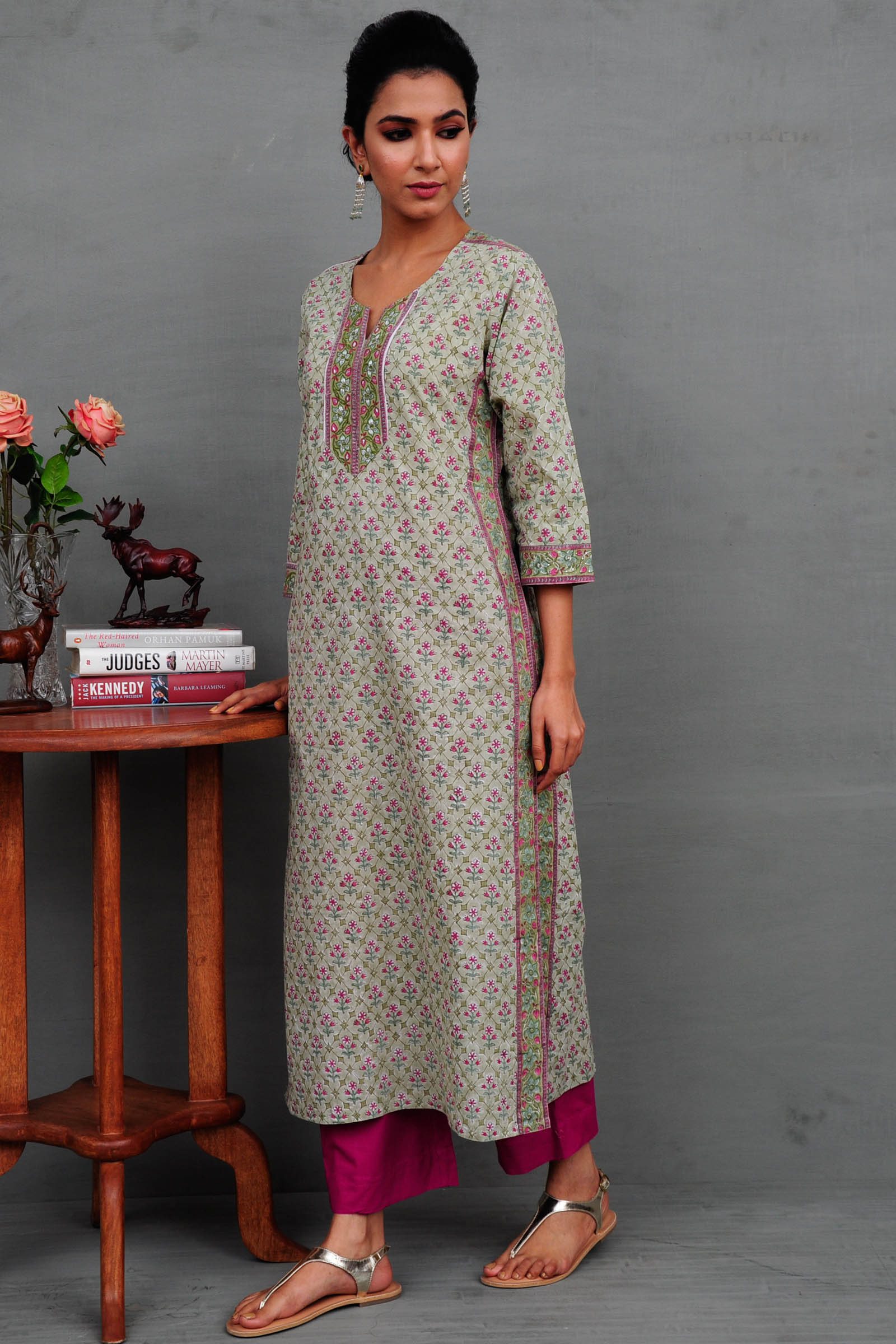October Harvest Cotton Kurta