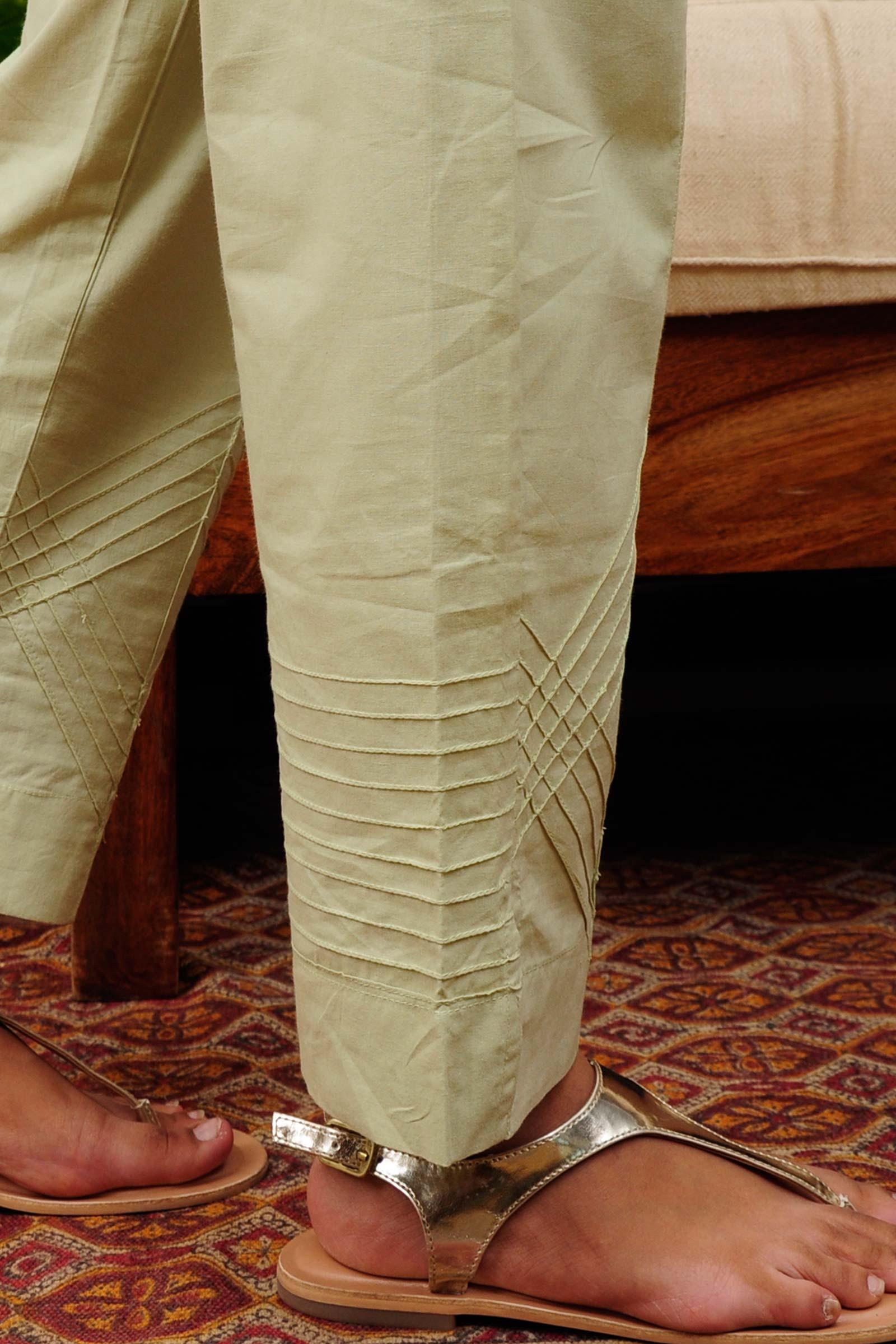 Palm Leaf Cigarette Pant