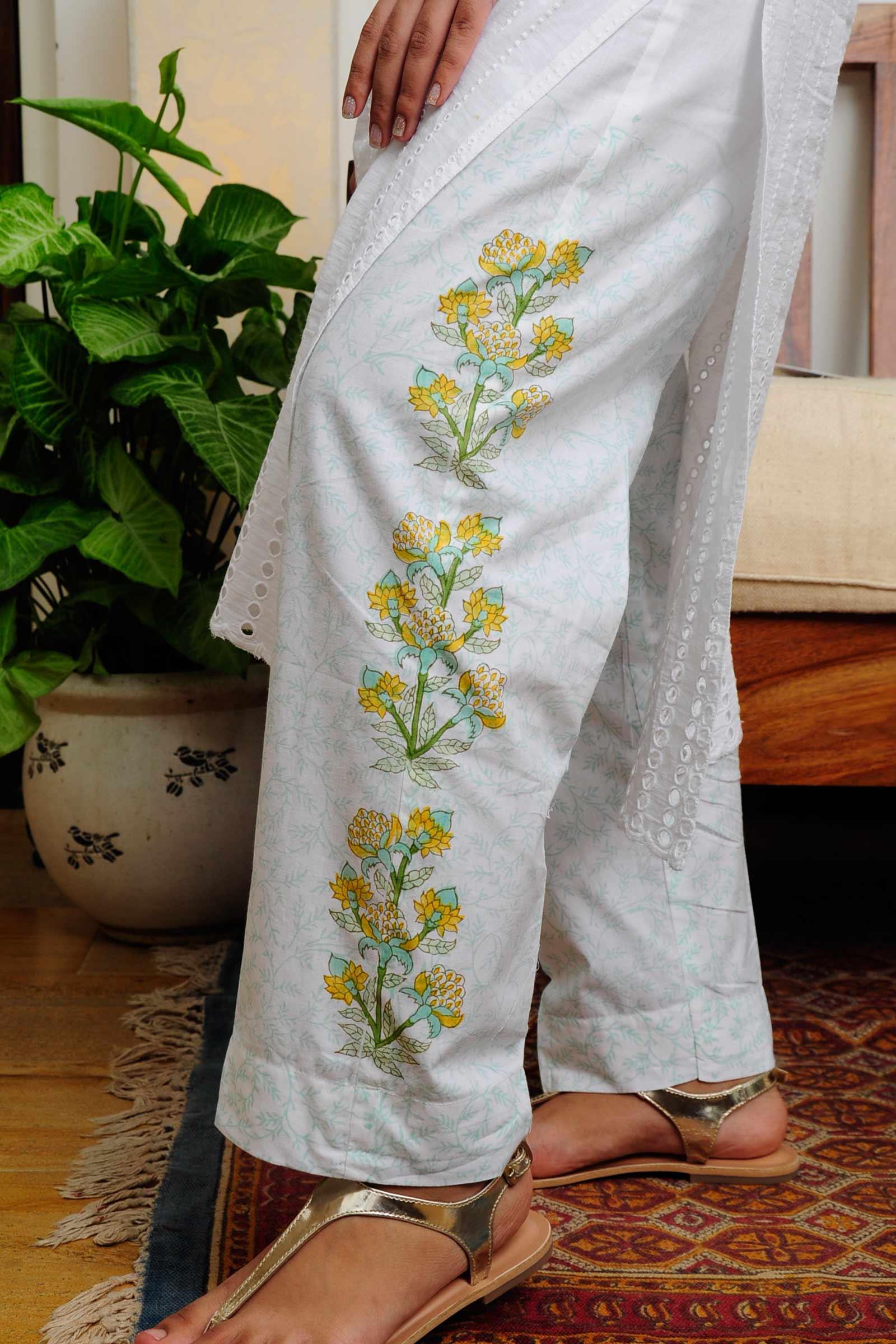 Painted Garden Cigarette Pant