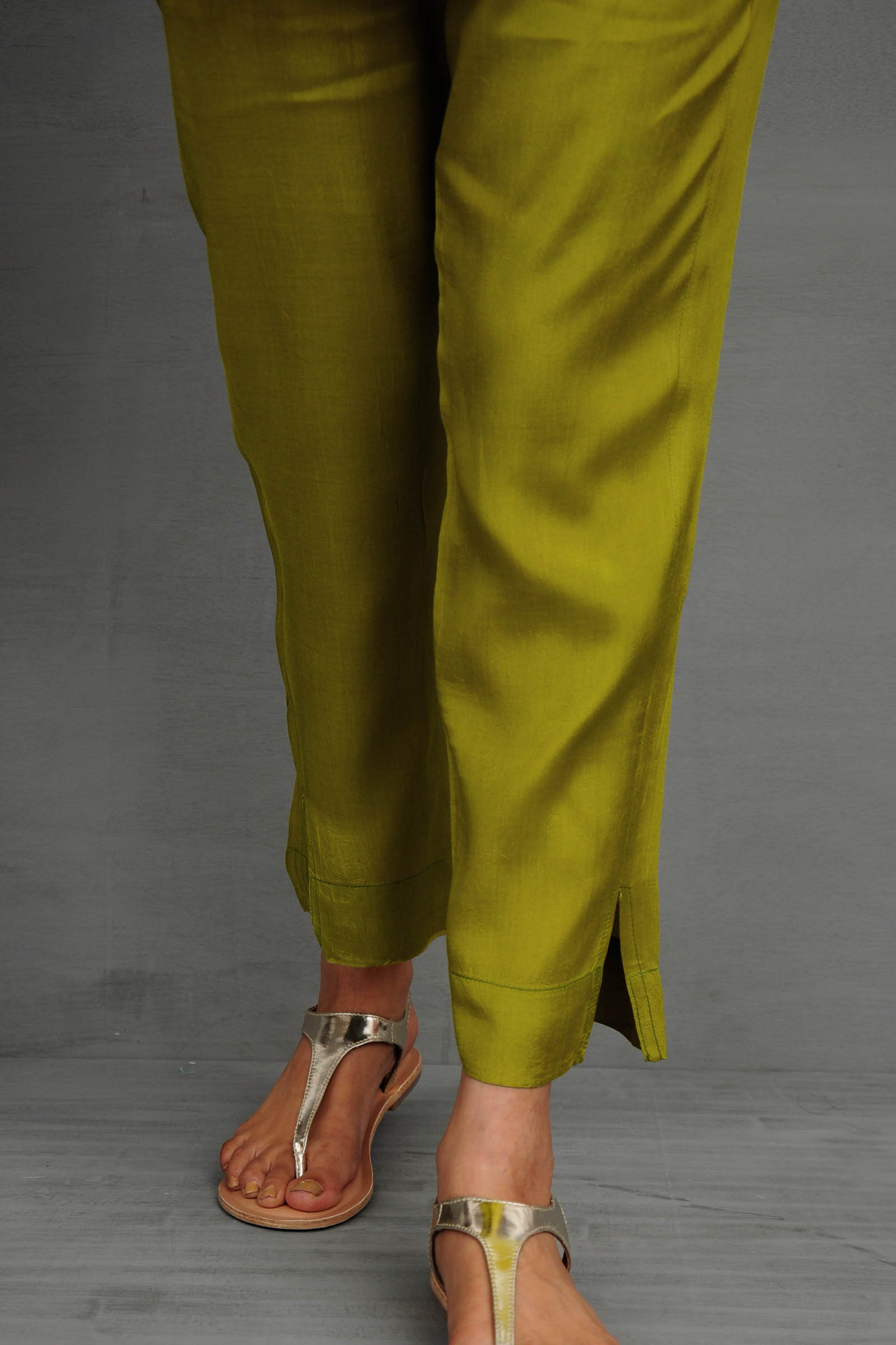 Green Meadow Cigarette Pant
