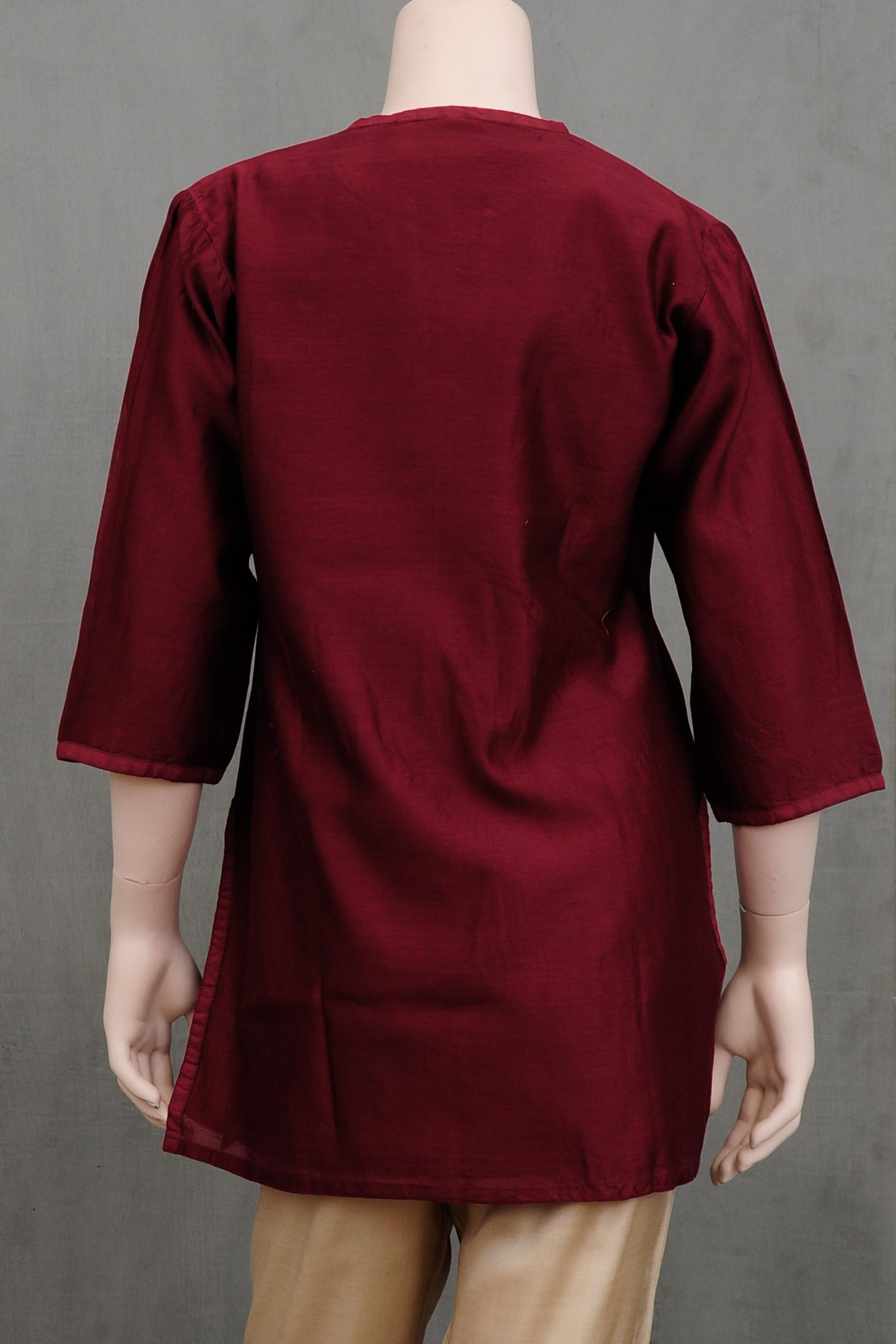 Philosophy Chanderi Kurti