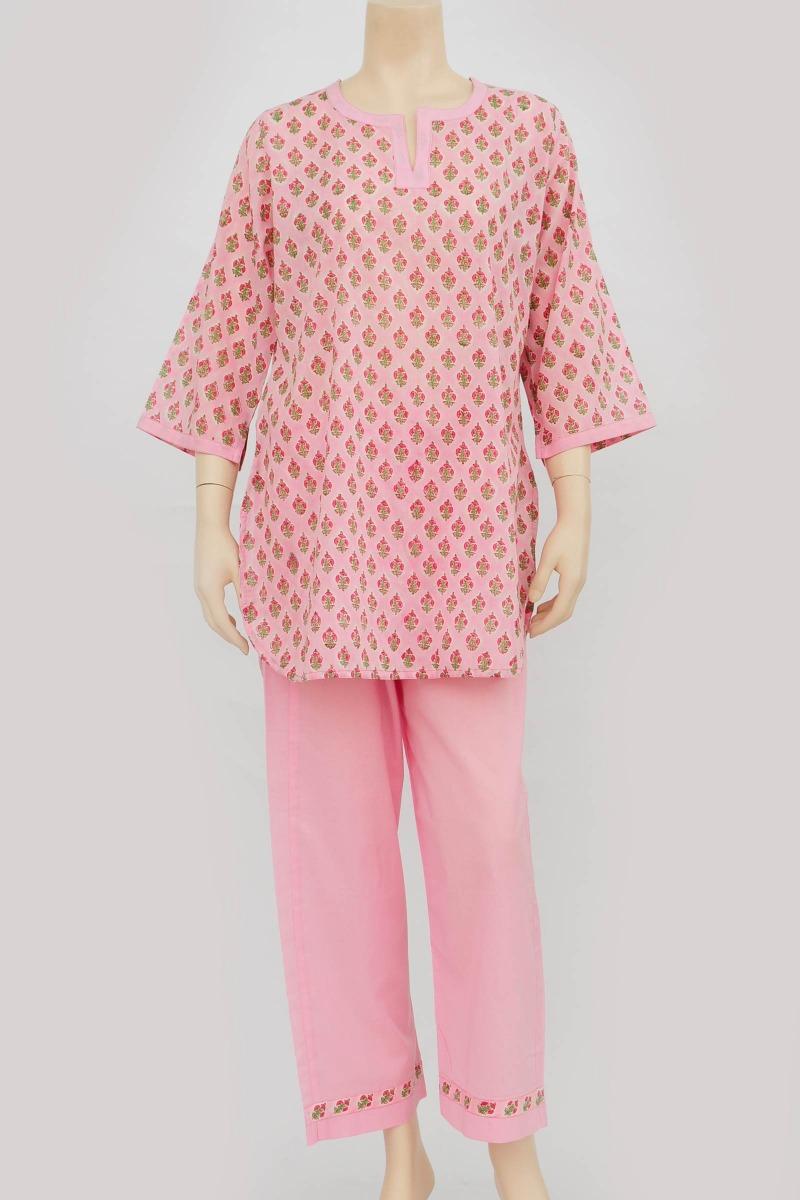 Pink Plain PJ