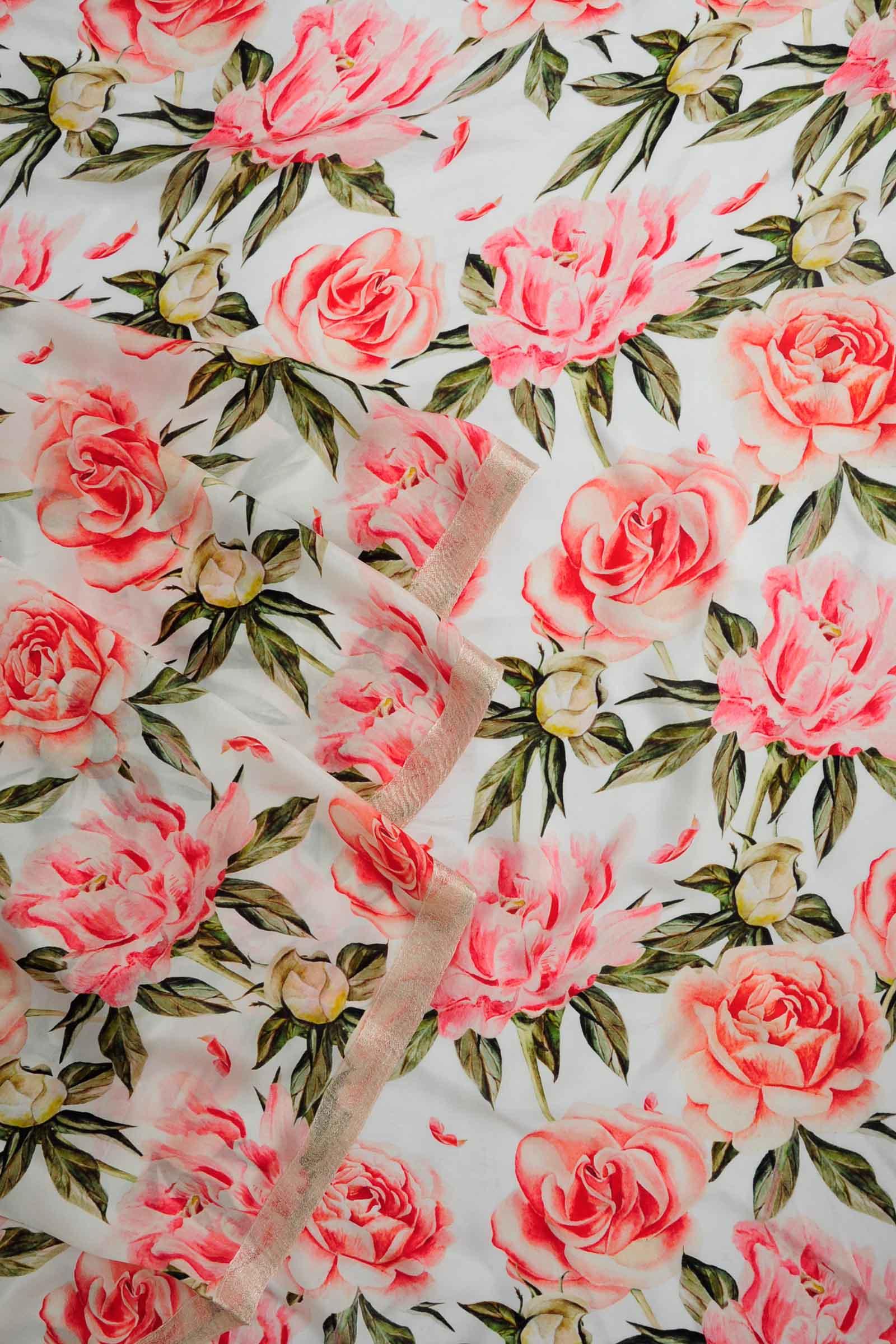 Pink Summer Saree