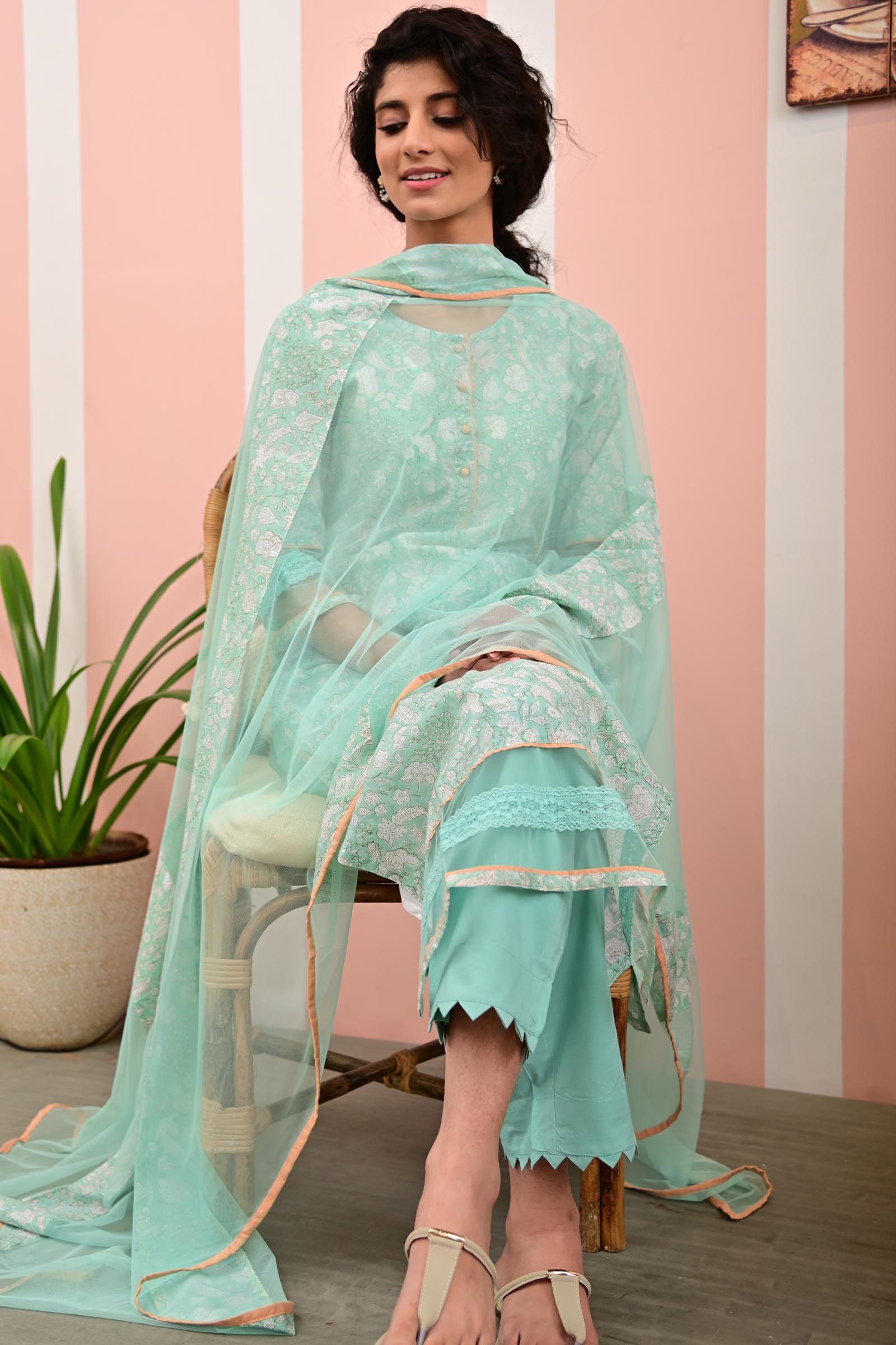 Rainforest Dupatta