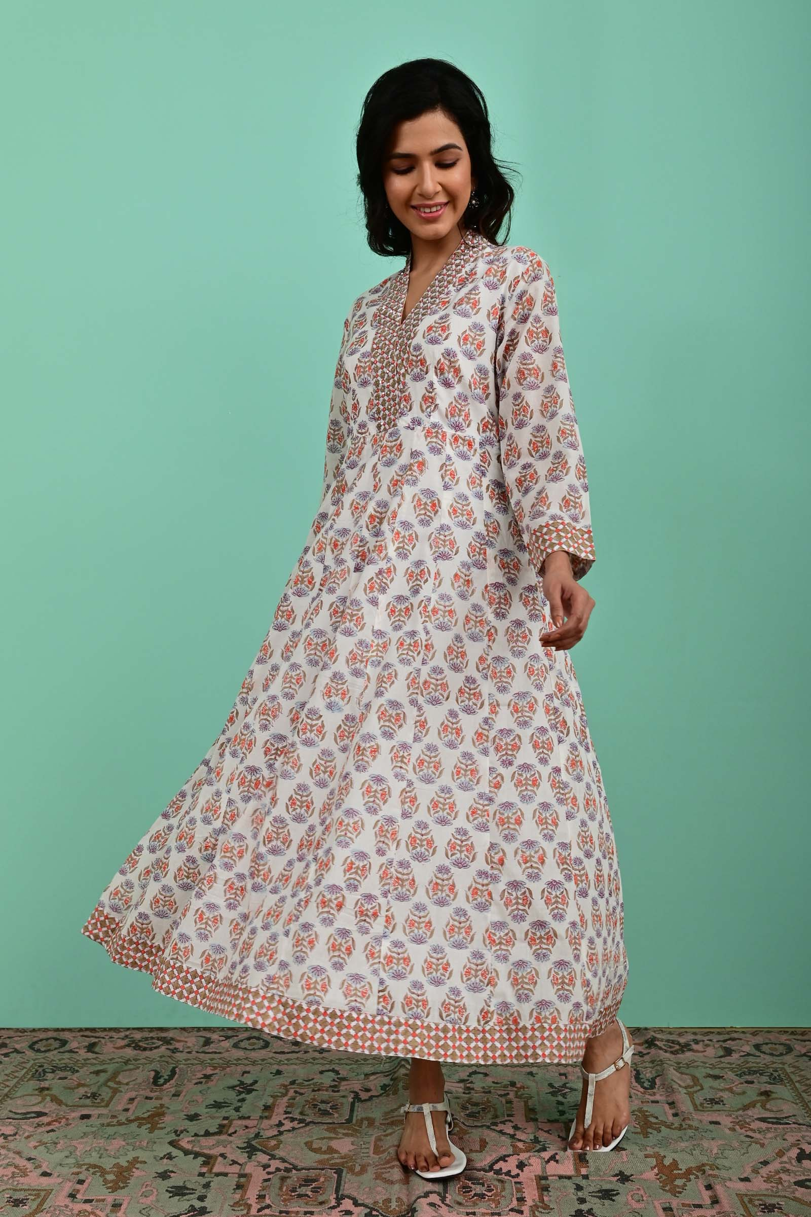 Shadow Voil Dress