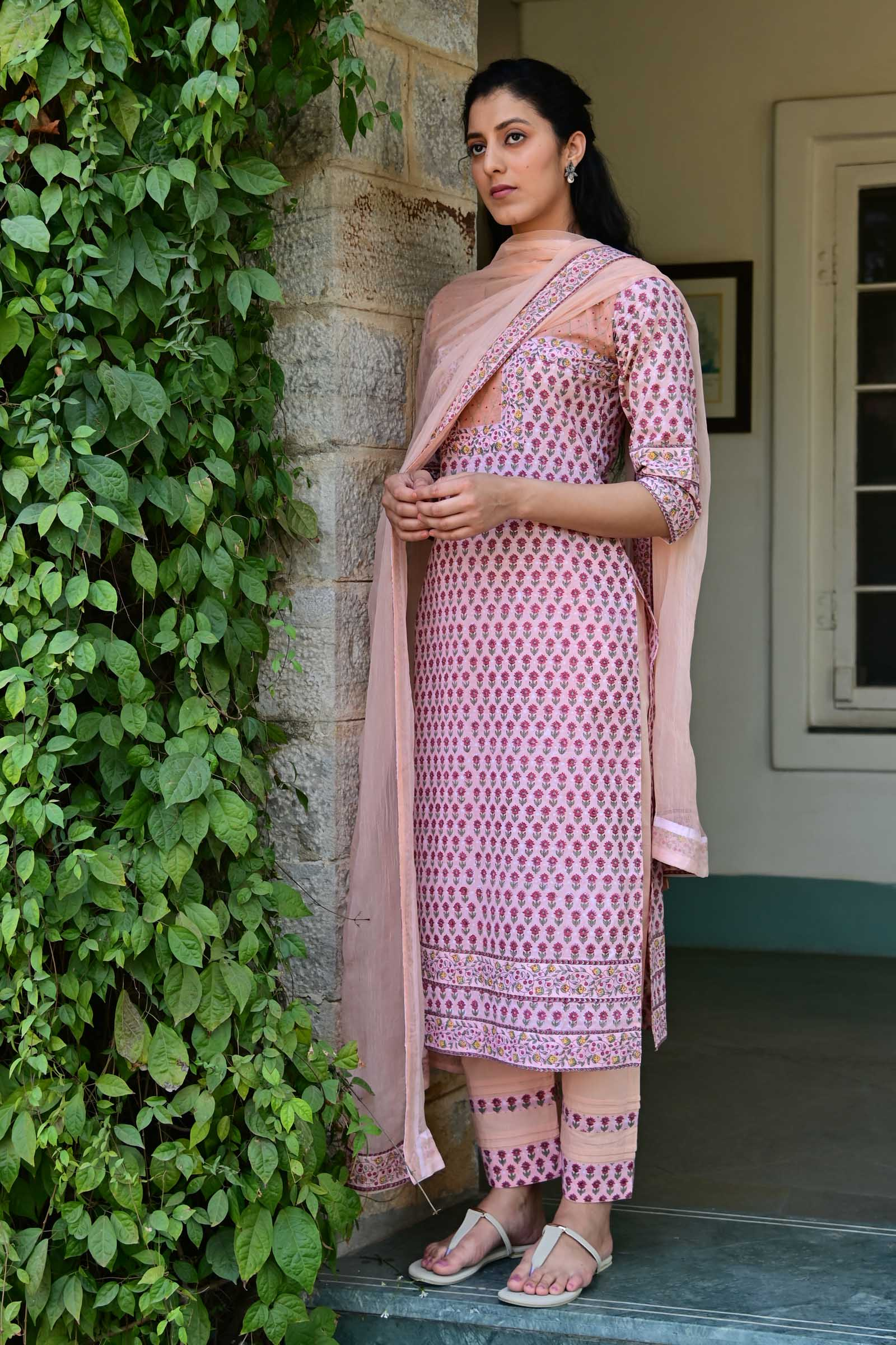 Spring Lane Cotton Kurta