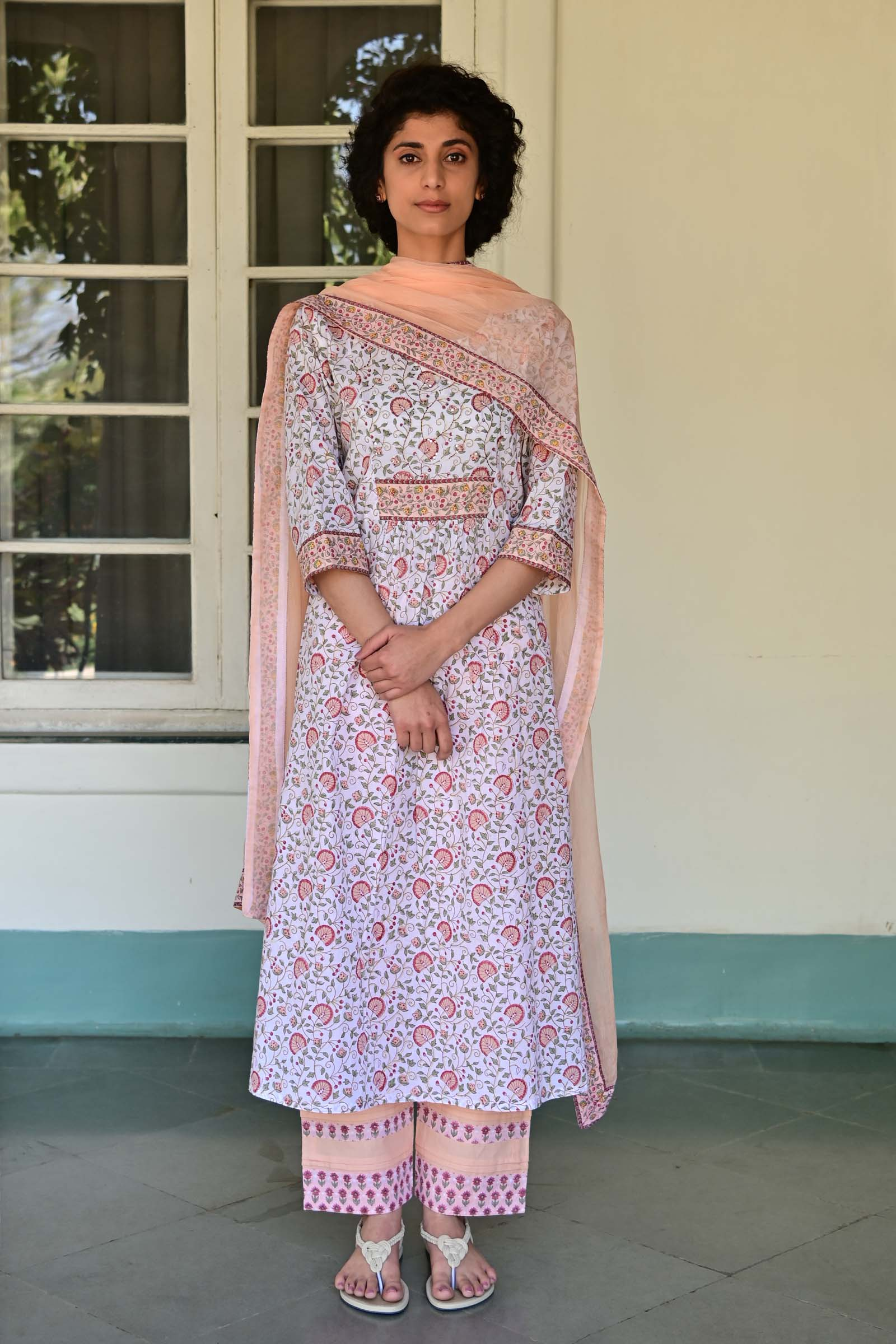 Step Into Spring Cotton Kurta