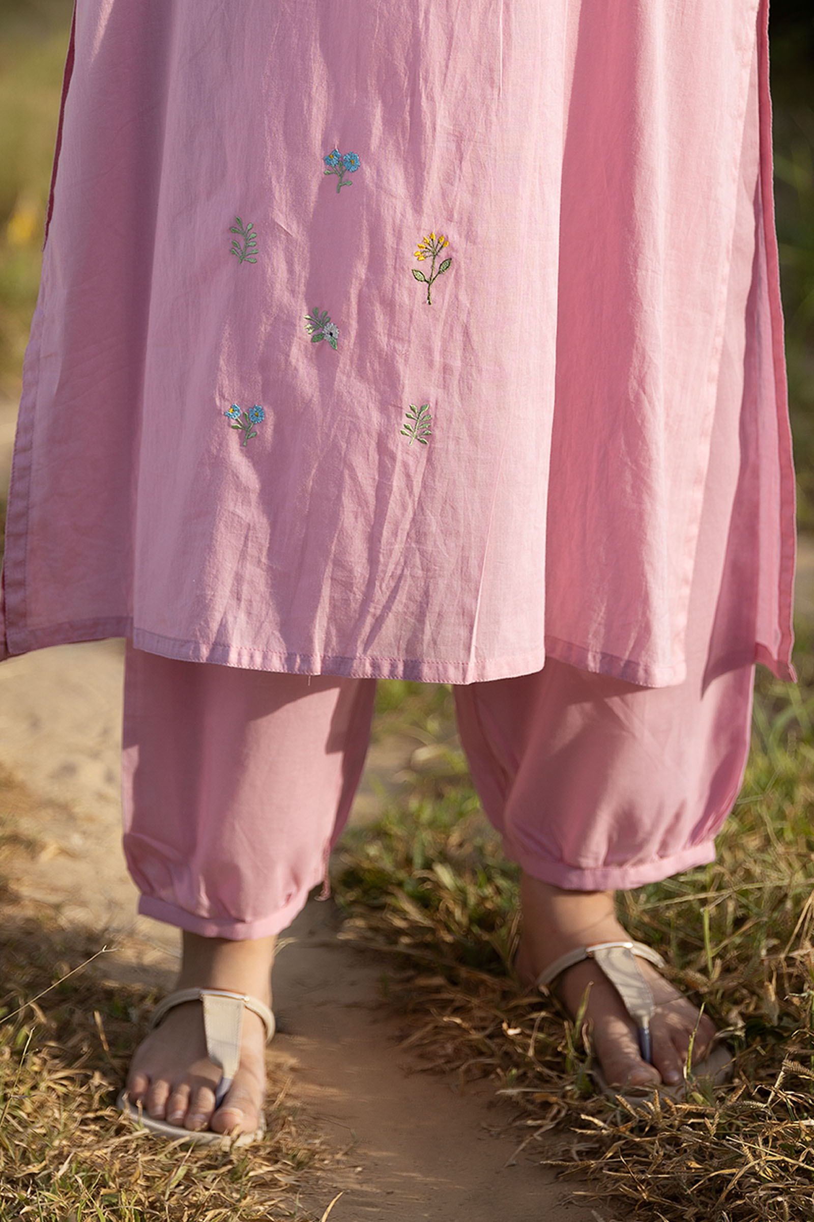 Stories From Yesterday Cotton Afghani Pant