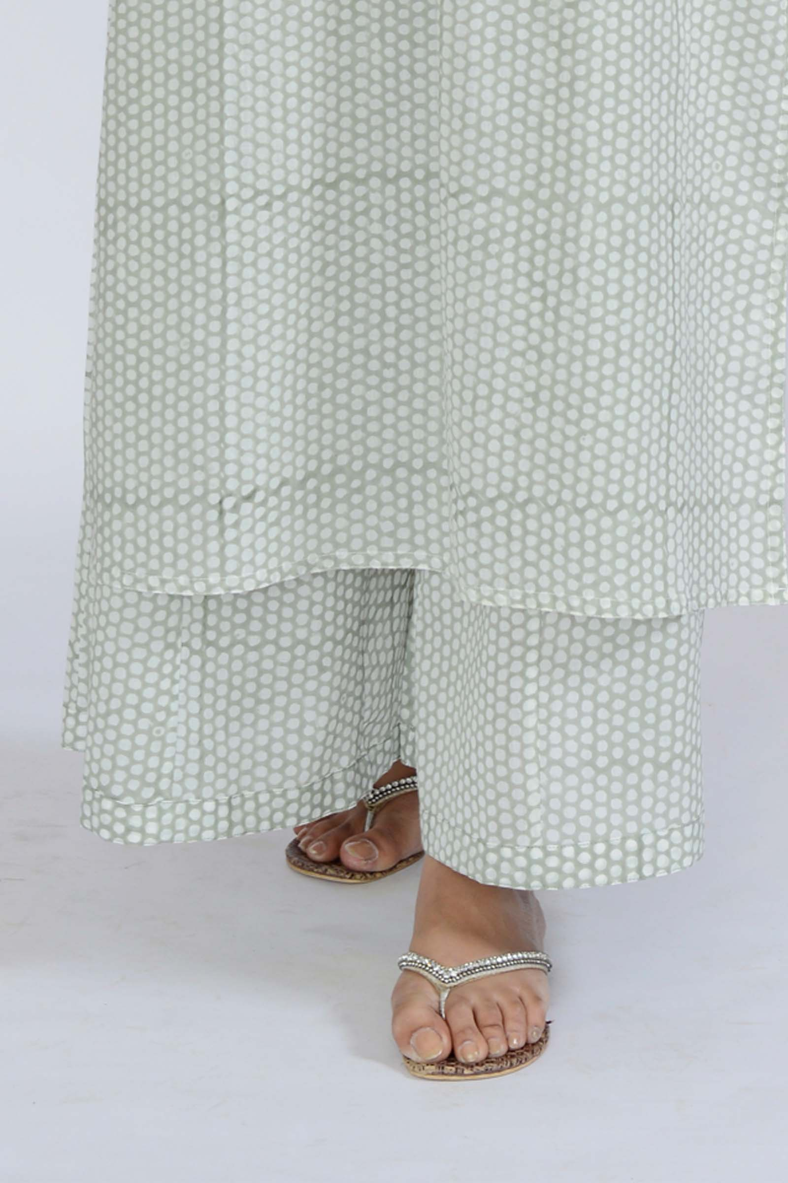 Summer Wine Cotton Flared Pant