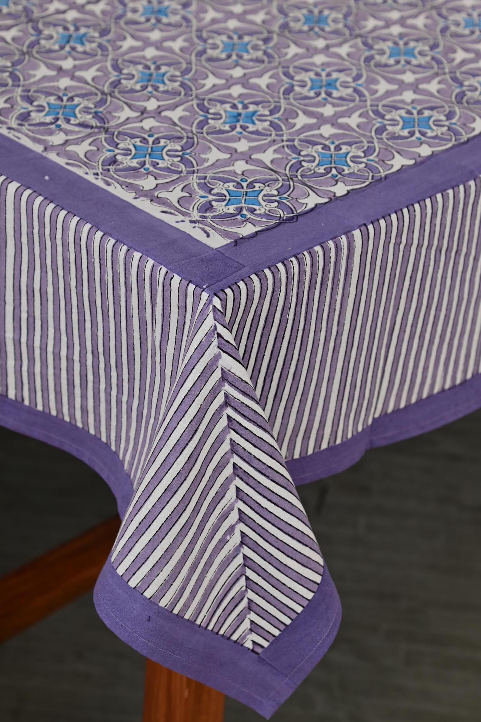 Artistic Lavender Table Cloth