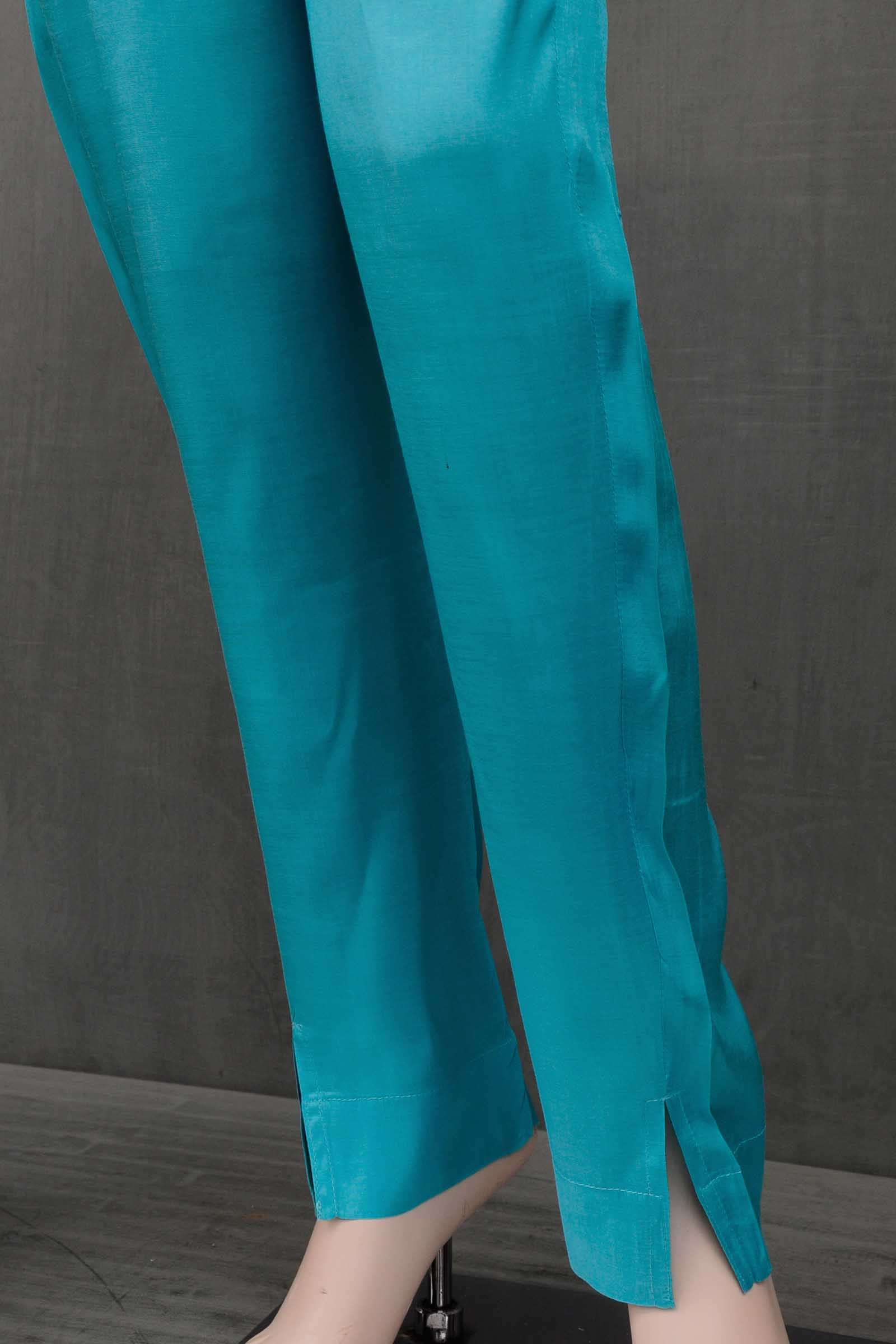 Tiffany Assam Silk Cigarette Pant