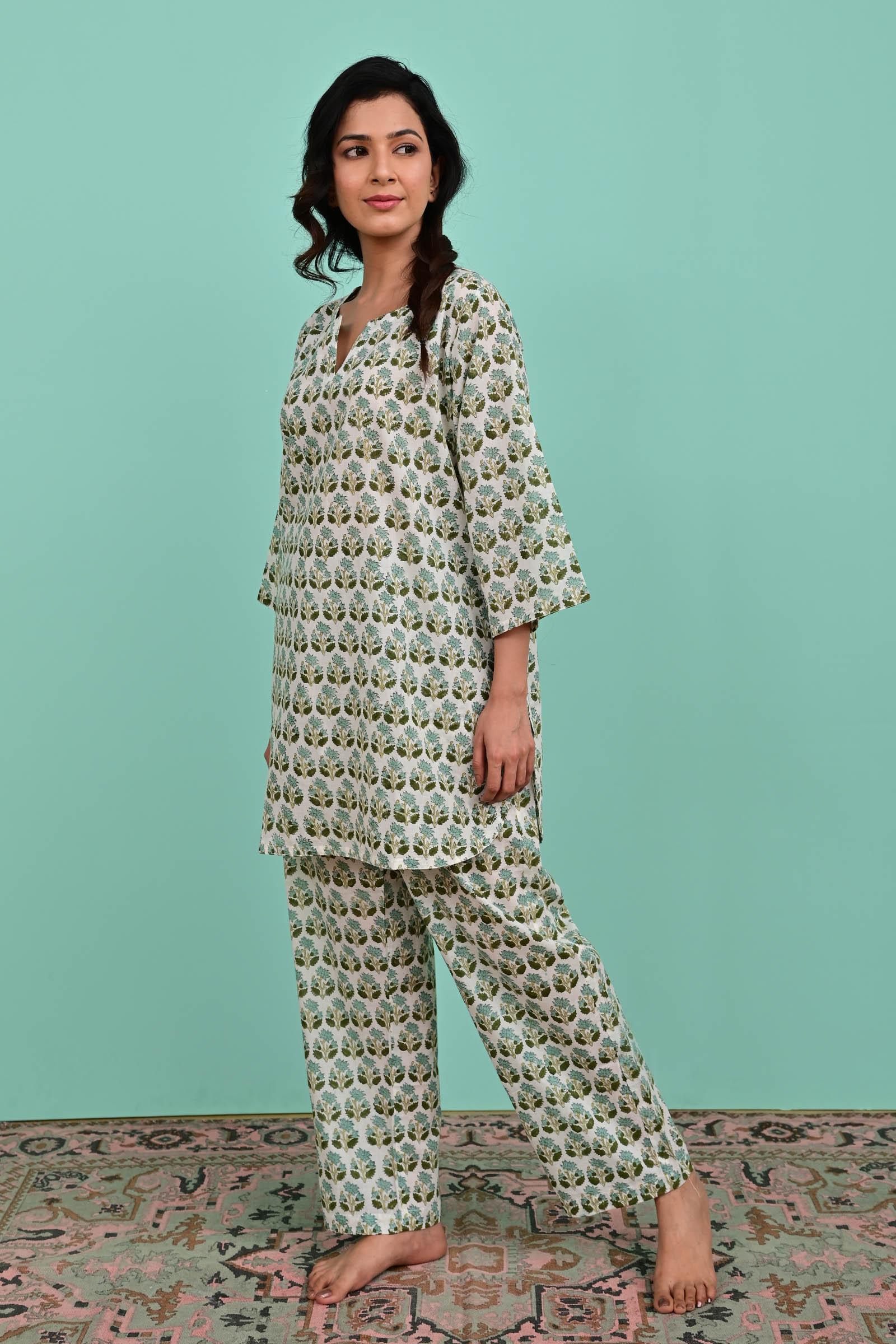Vista Cotton Night Suit