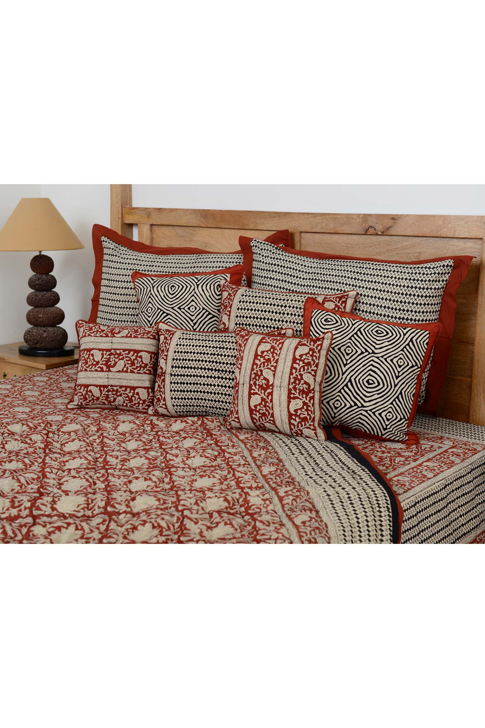 Vrindavan Bed Cover