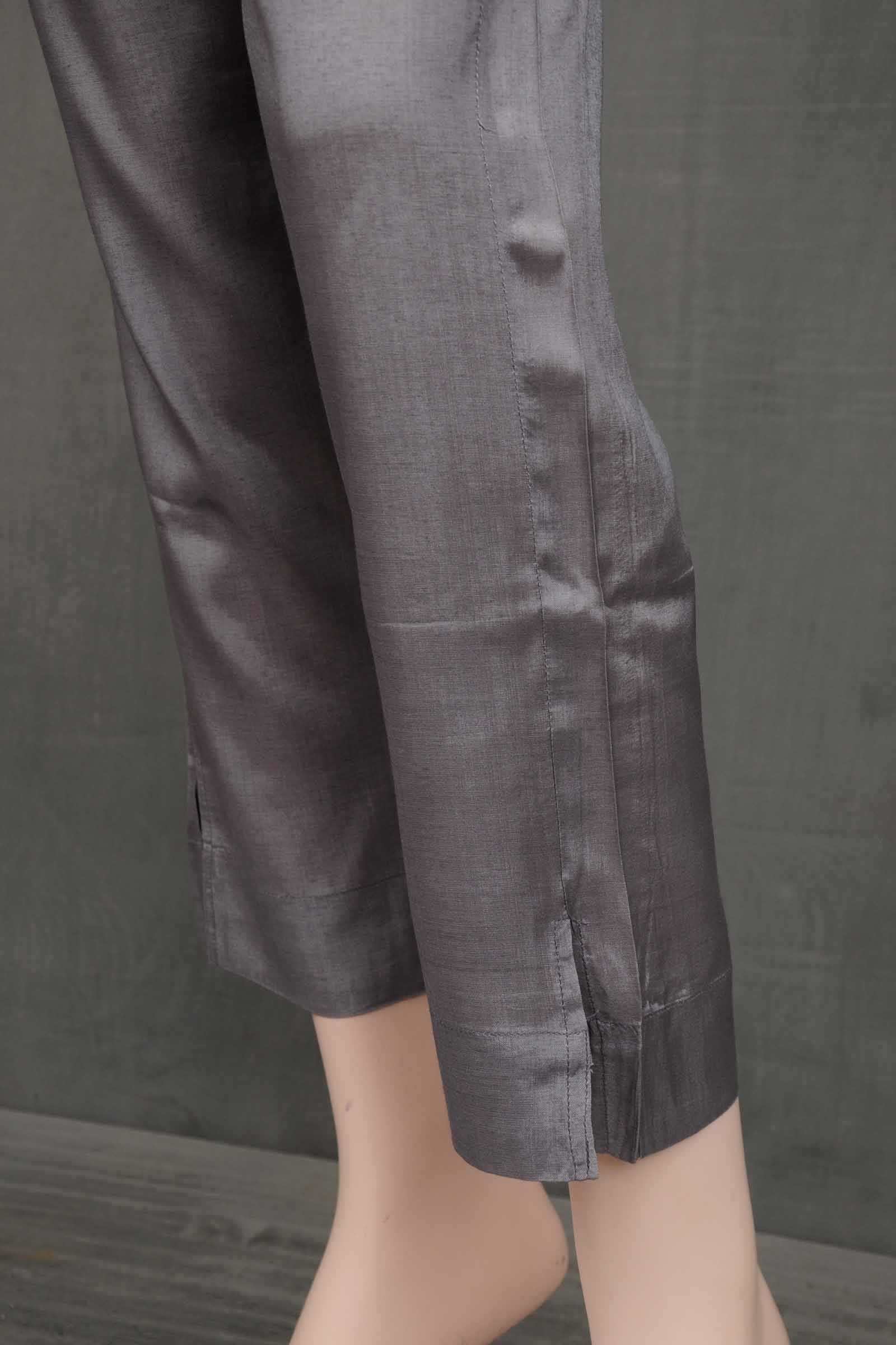 French Elegance Assam SIlk Cigarette Pant
